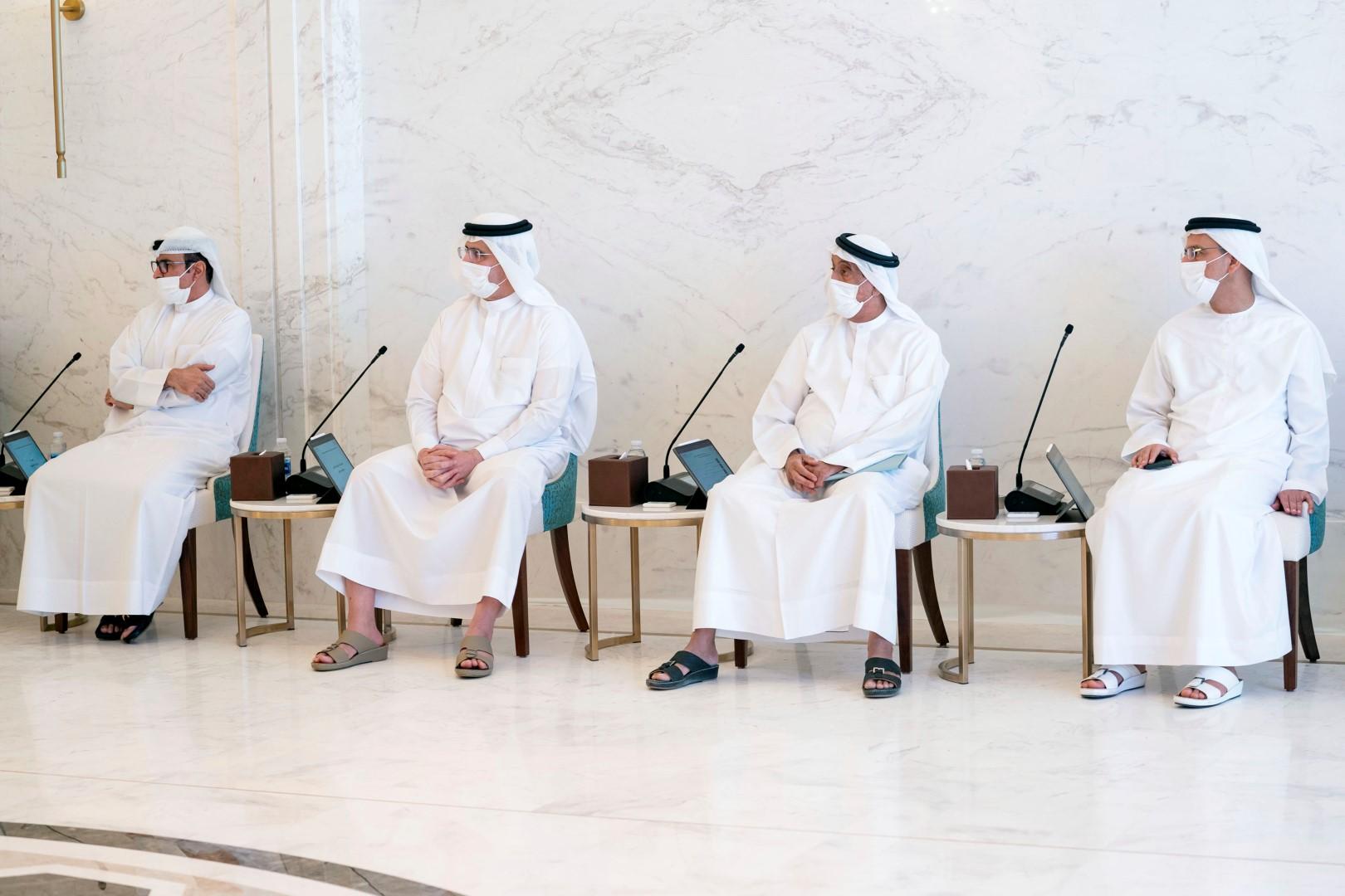 """حمدان بن محمد يترأس اجتماع المجلس التنفيذي في مقر """"إكسبو 2020"""""""