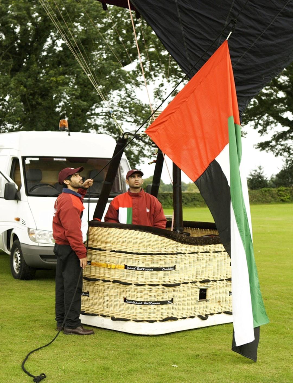 """""""منطاد علم الإمارات"""" ينطلق نوفمبر المقبل"""