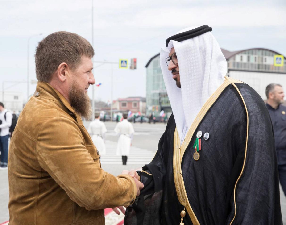 إطلاق إسم محمد بن زايد على شارع رئيسي في العاصمة الشيشانية