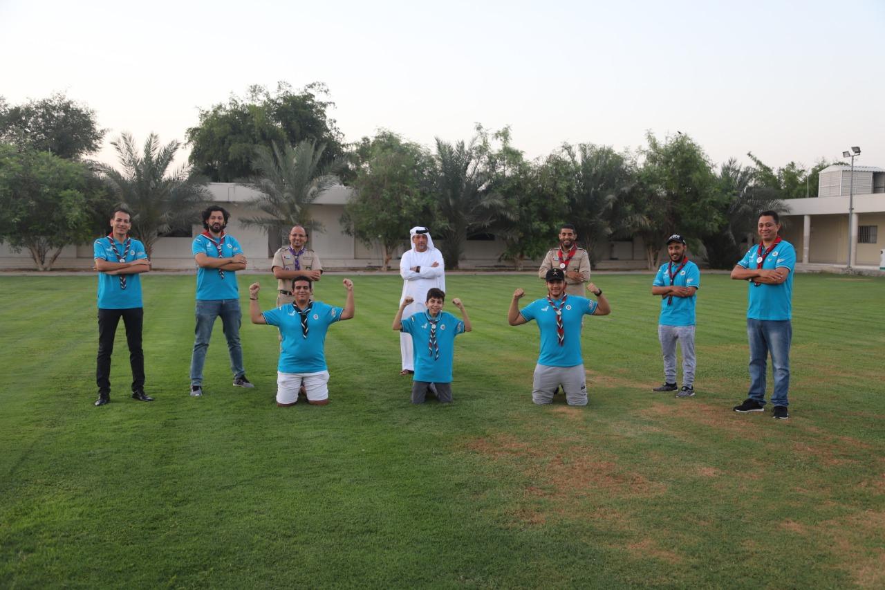 كشافة الإمارات تحصد المراكز الأولى عربيا