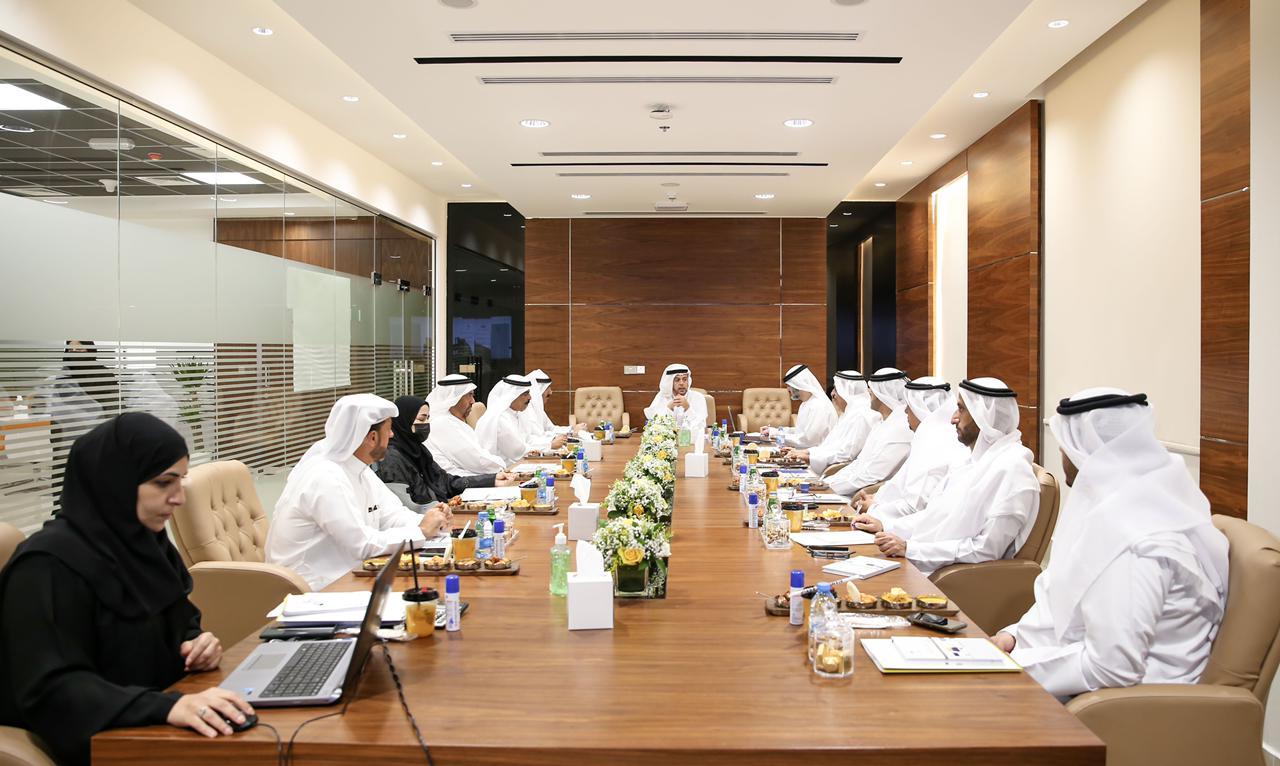مجلس إدارة غرفة عجمان يطلع على إستراتيجية الابتكار واستشراف المستقبل
