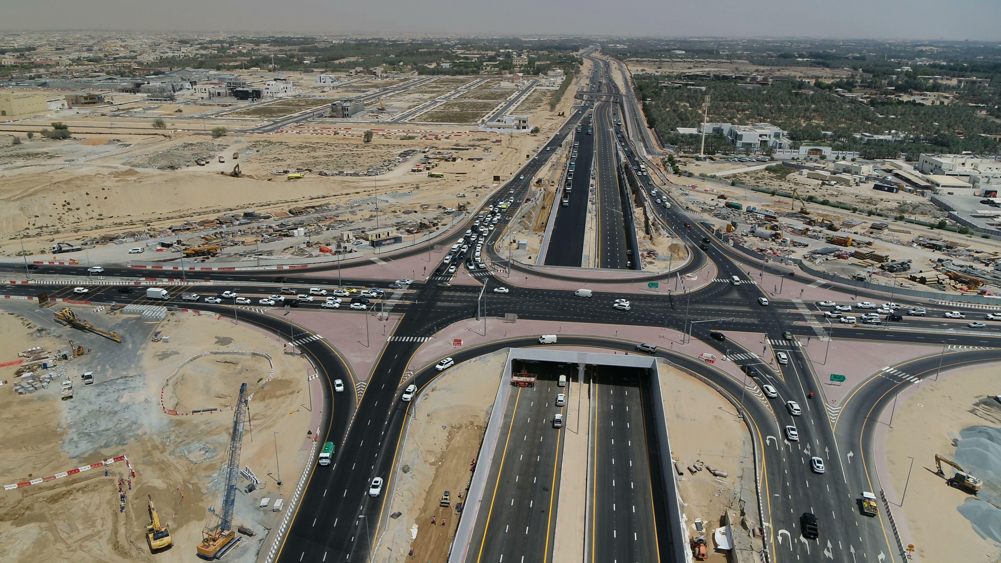 """""""طرق دبي"""" تفتتح مشروع تطوير محور الخوانيج"""