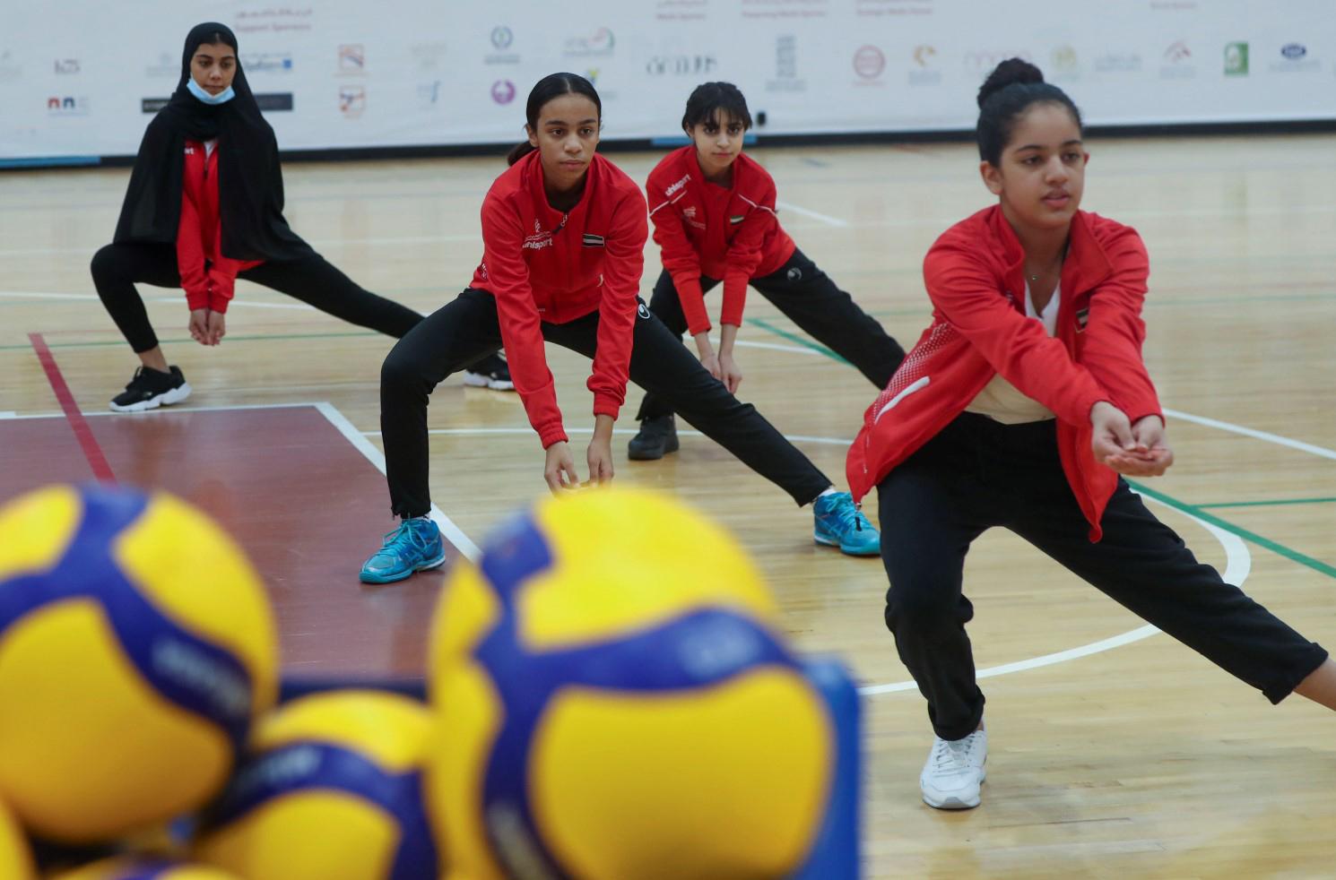 عودة النشاط الرياضي بأندية مؤسسة الشارقة لرياضة المرأة