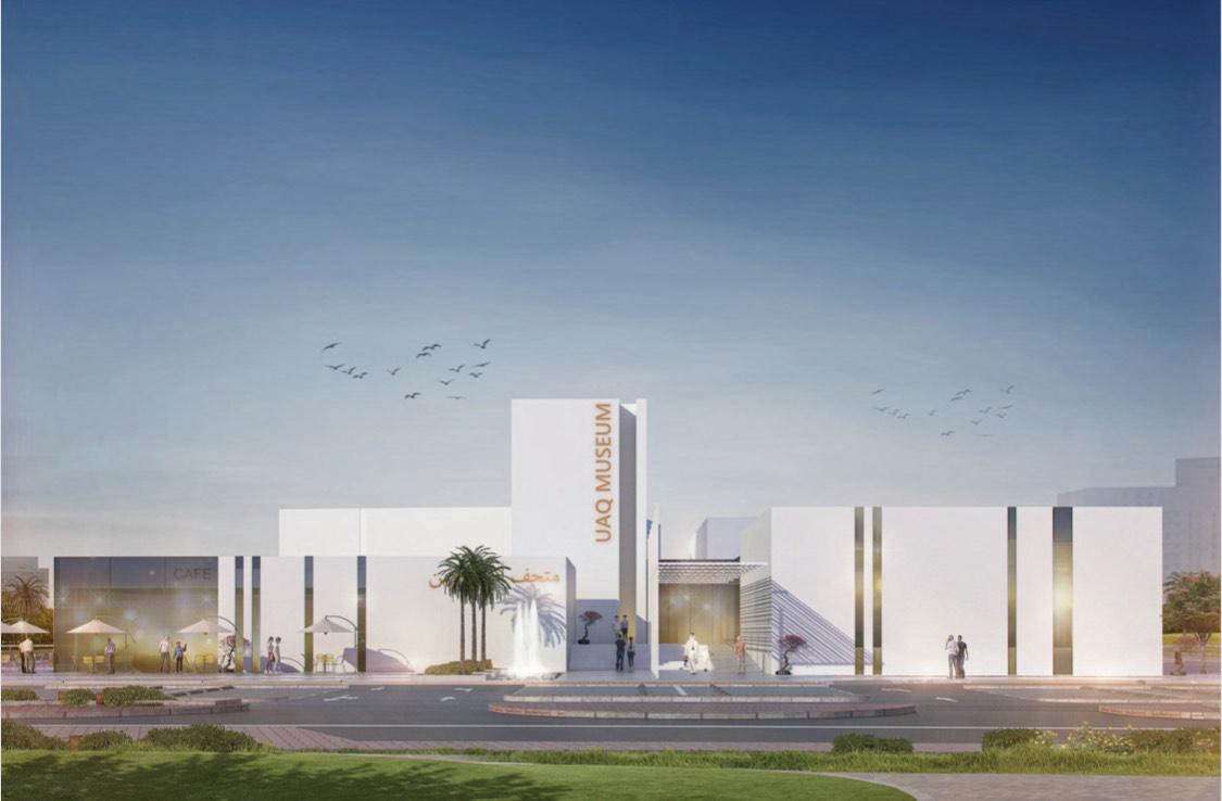 بدء أعمال إنشاء مبنى متحف أم القيوين الوطني الجديد على مساحة 8000 متر مربع