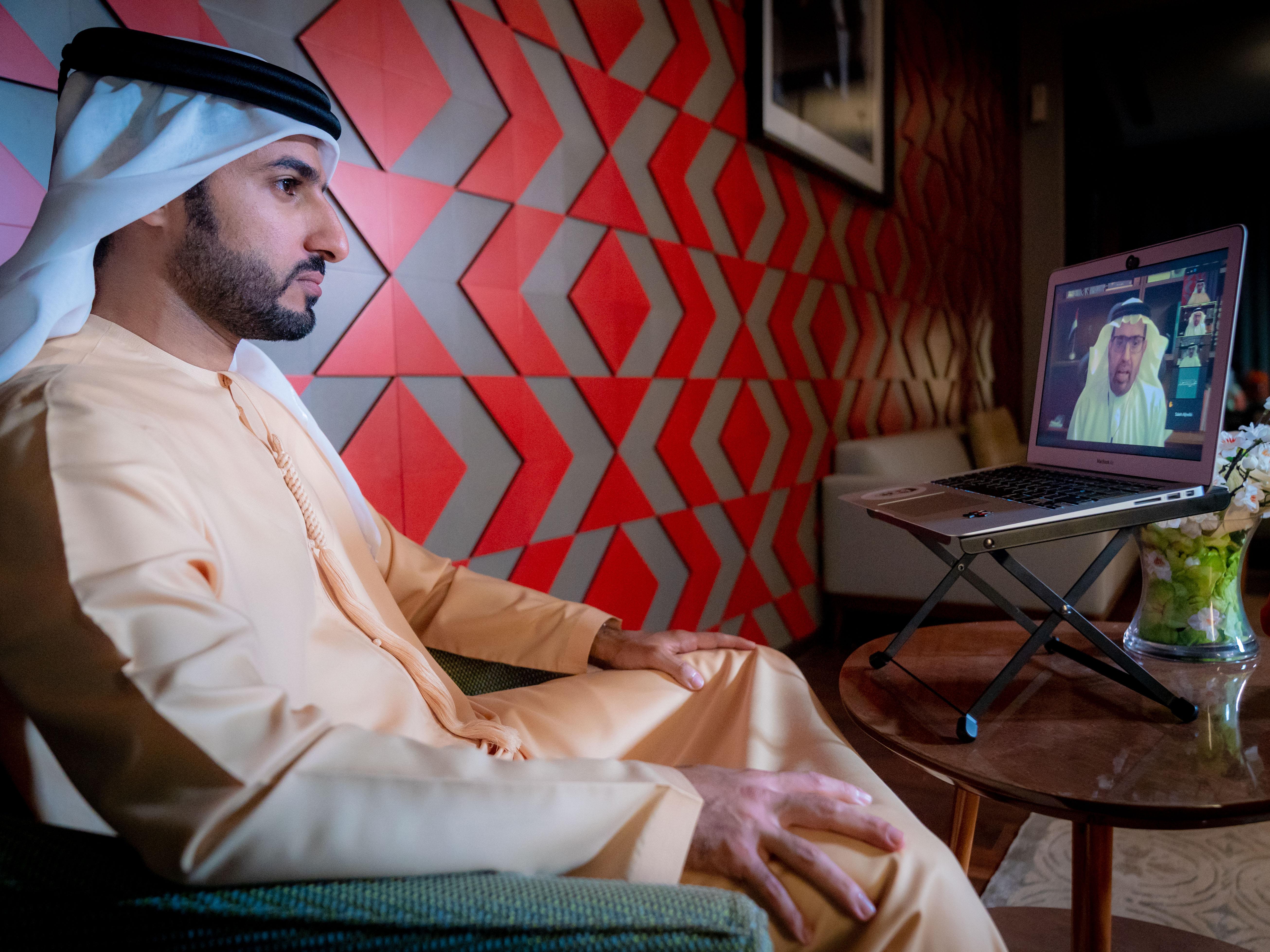 مجلس راشد بن حميد النعيمي يسلط الضوء على نهج الخير في الإمارات