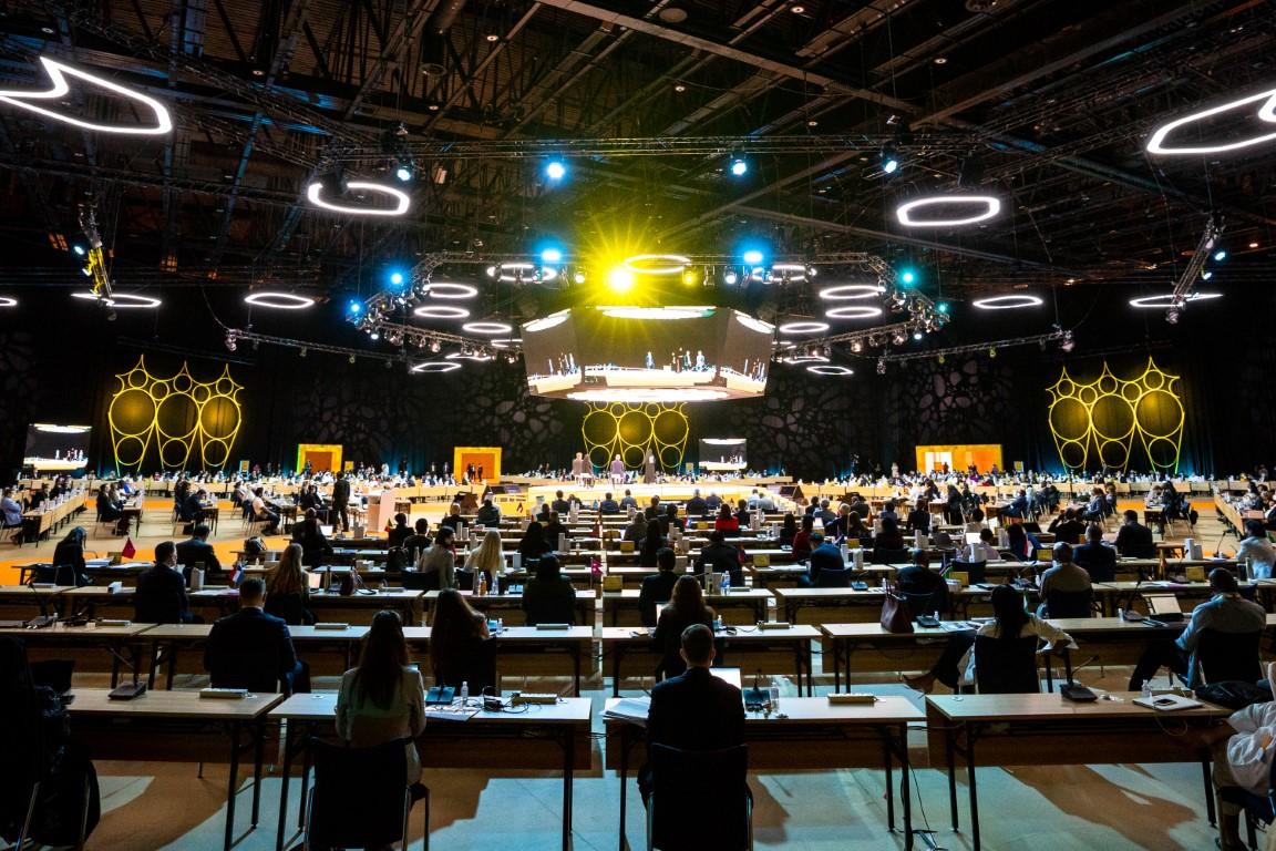 محمد بن راشد يرحب بوفود الدول والمنظمات الدولية في اجتماعهم النهائي استعداداً لانطلاقة اكسبو 2020