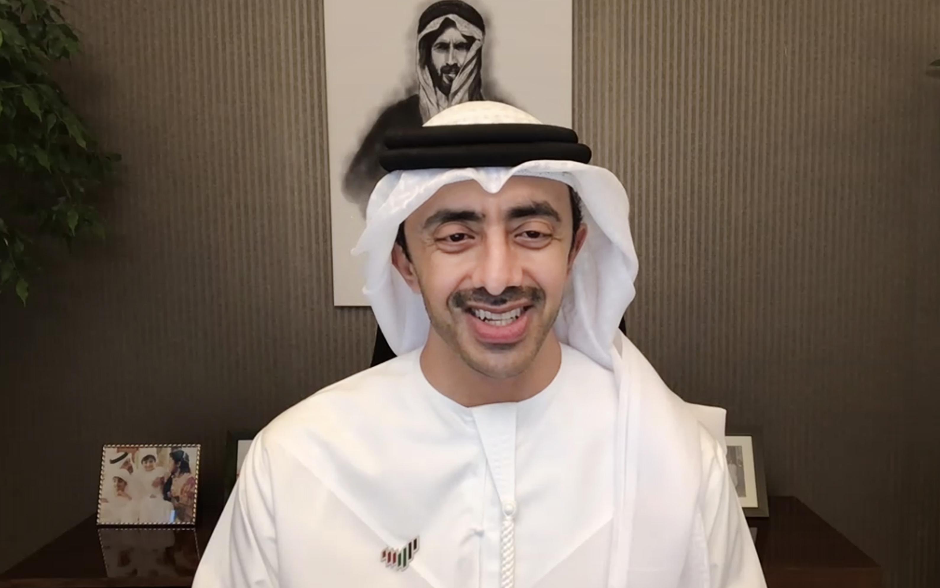 عبدالله بن زايد يترأس اجتماع لجنة الاحتفال باليوبيل الذهبي للدولة