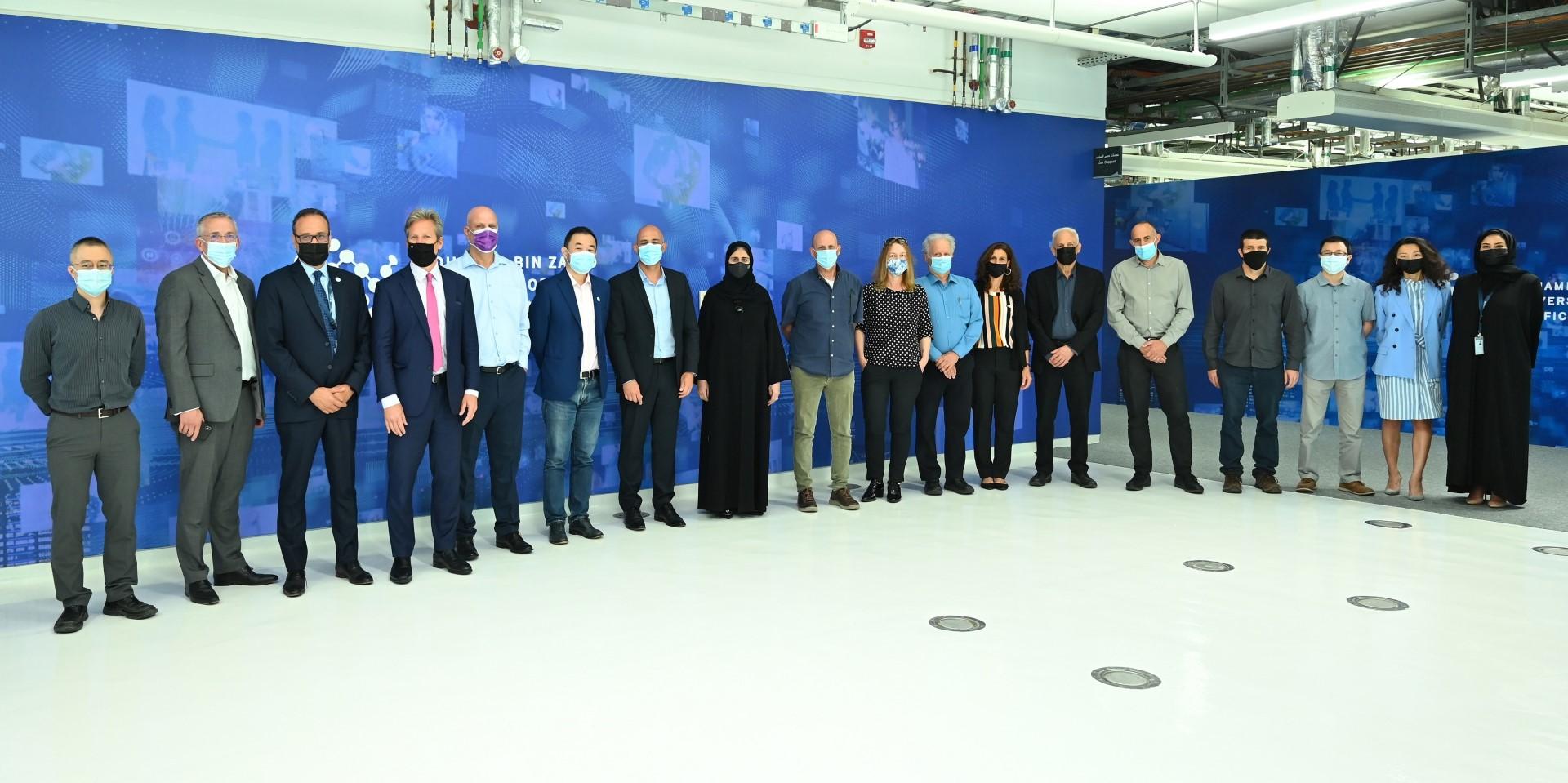 جامعة محمد بن زايد للذكاء الاصطناعي تستقبل وفدا من معهد وايزمان للعلوم