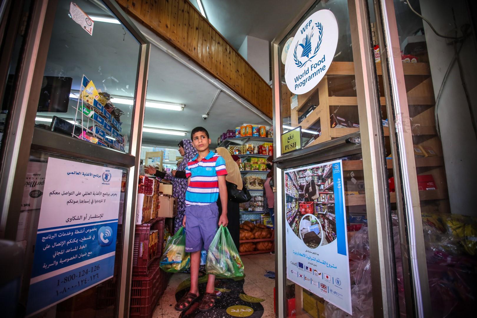 """""""حملة 100 مليون وجبة"""" الرمضانية تقدم 19 مليون وجبة إضافية في غزة بالتعاون مع برنامج الأغذية العالمي"""