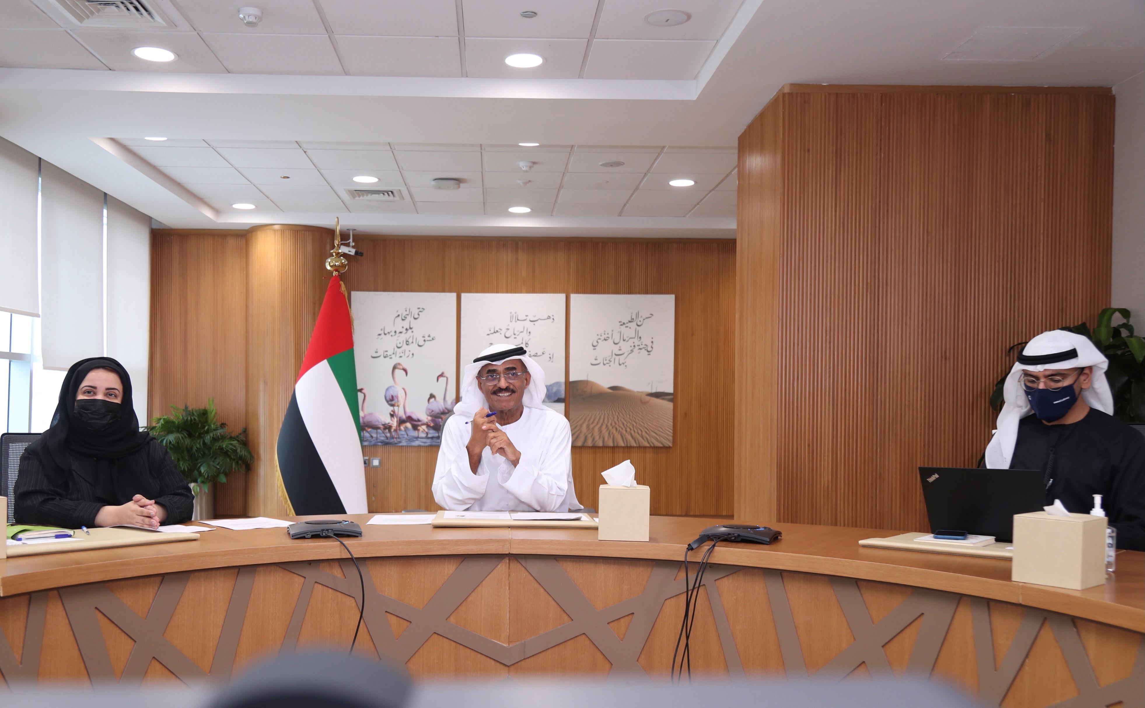 """بلحيف النعيمي يناقش تعزيز التحول نحو الاقتصاد الدائري في اجتماع القيادة لمنصة """"PACE"""""""