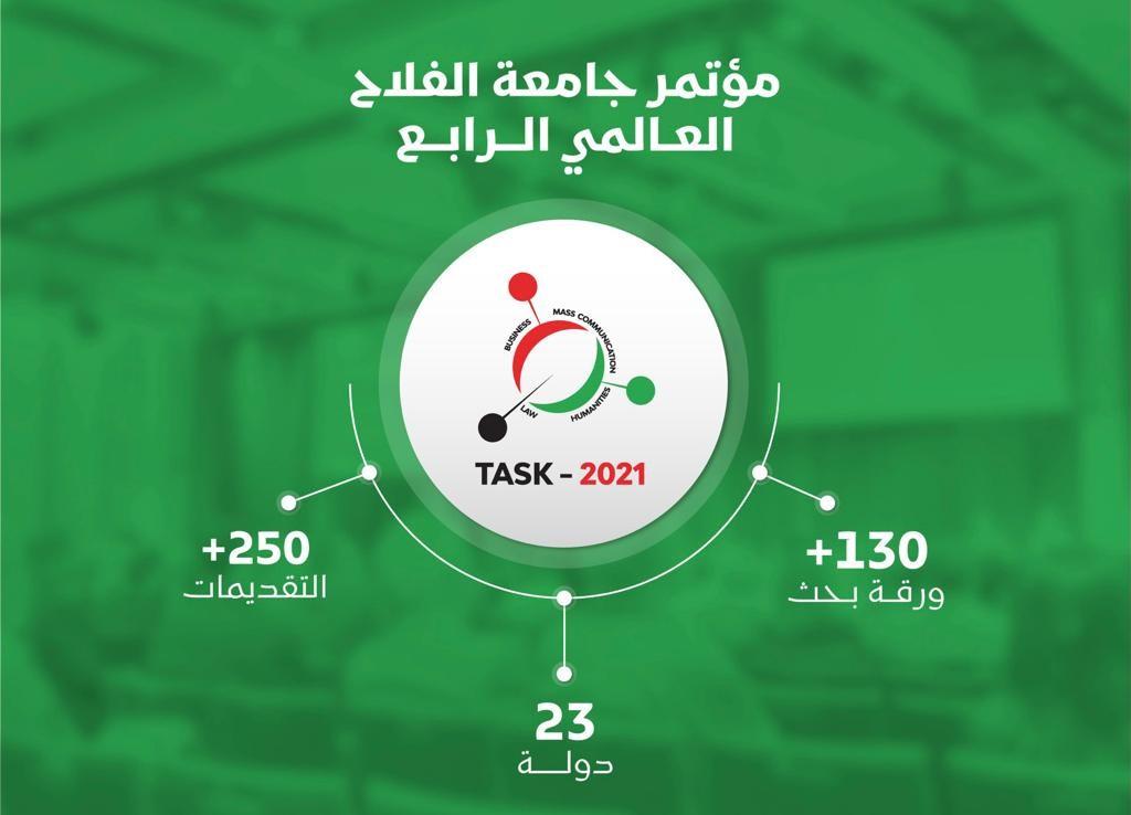 """جامعة الفلاح تختتم مؤتمرها الدولي الرابع """"TASK4"""""""