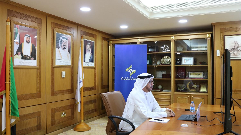 غرفة عجمان تناقش فوائد فتح ملكية 100٪ للاستثمار الأجنبي