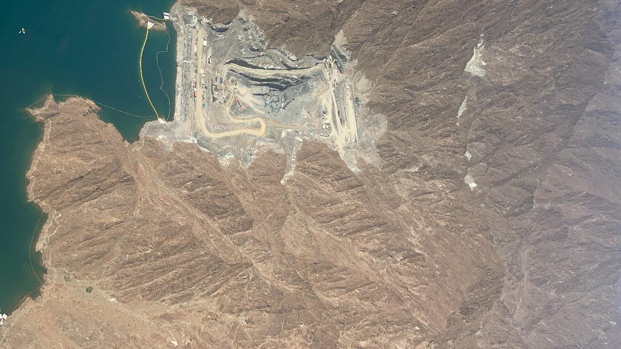 """""""كهرباء دبي"""": 23 % نسبة الإنجاز في المحطة الكهرومائية في حتا بقدرة 250 ميجاوات"""