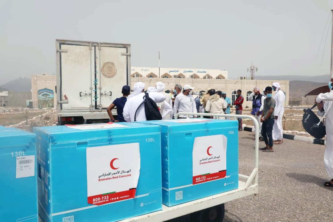 الإمارات ترسل 60 ألف جرعة من لقاح