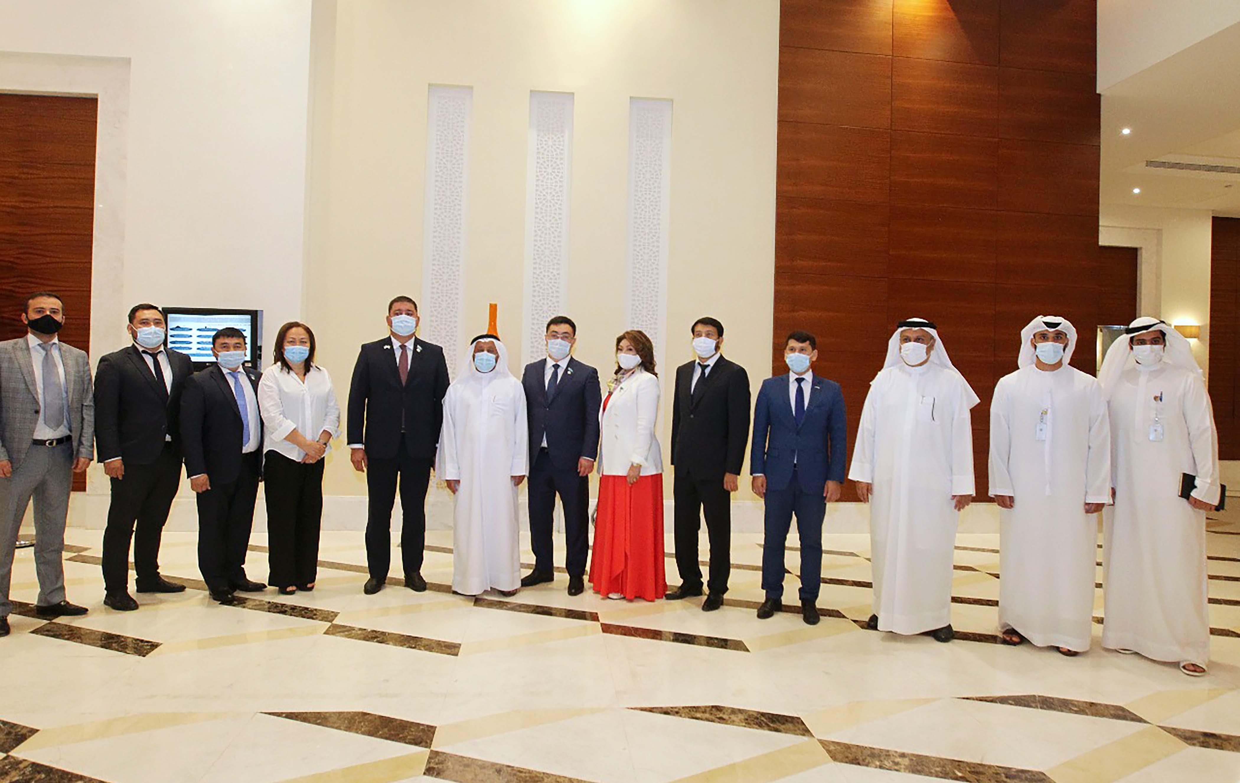 """""""غرفة الشارقة"""" تبحث مع كازاخستان الفرص الاستثمارية الواعدة في السياحة والزراعة ومختلف القطاعات الاقتصادية"""
