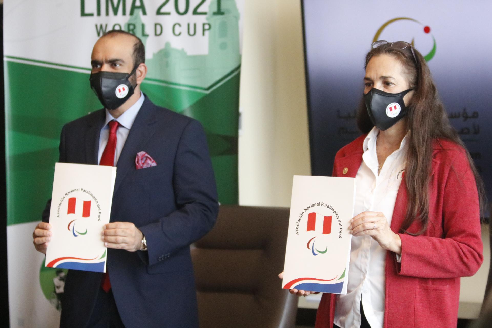 """""""زايد العليا"""" تنقل خبراتها التنظيمية لدعم بطولة كأس العالم للرماية البارالمبية في البيرو"""