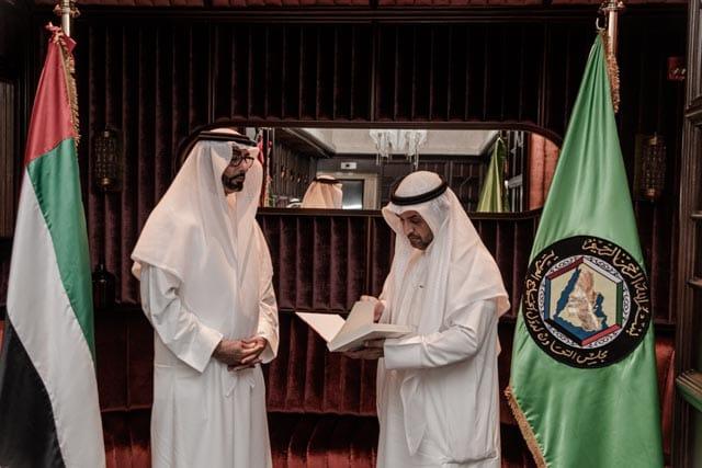 البواردي يستقبل الأمين العام لمجلس التعاون الخليجي