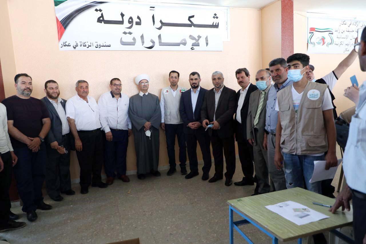 الامارات تقدم مساعدات لأكثر من 35 ألف أسرة في شمال لبنان