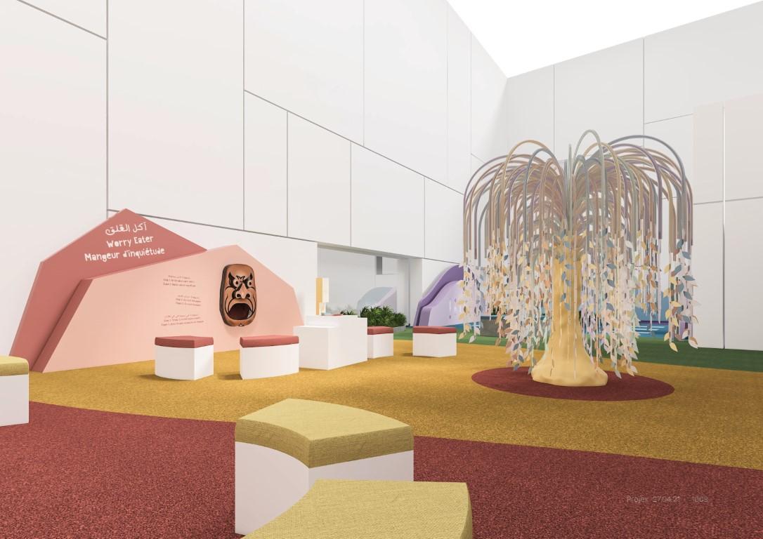 افتتاح متحف الأطفال في اللوفر أبوظبي 18 يونيو