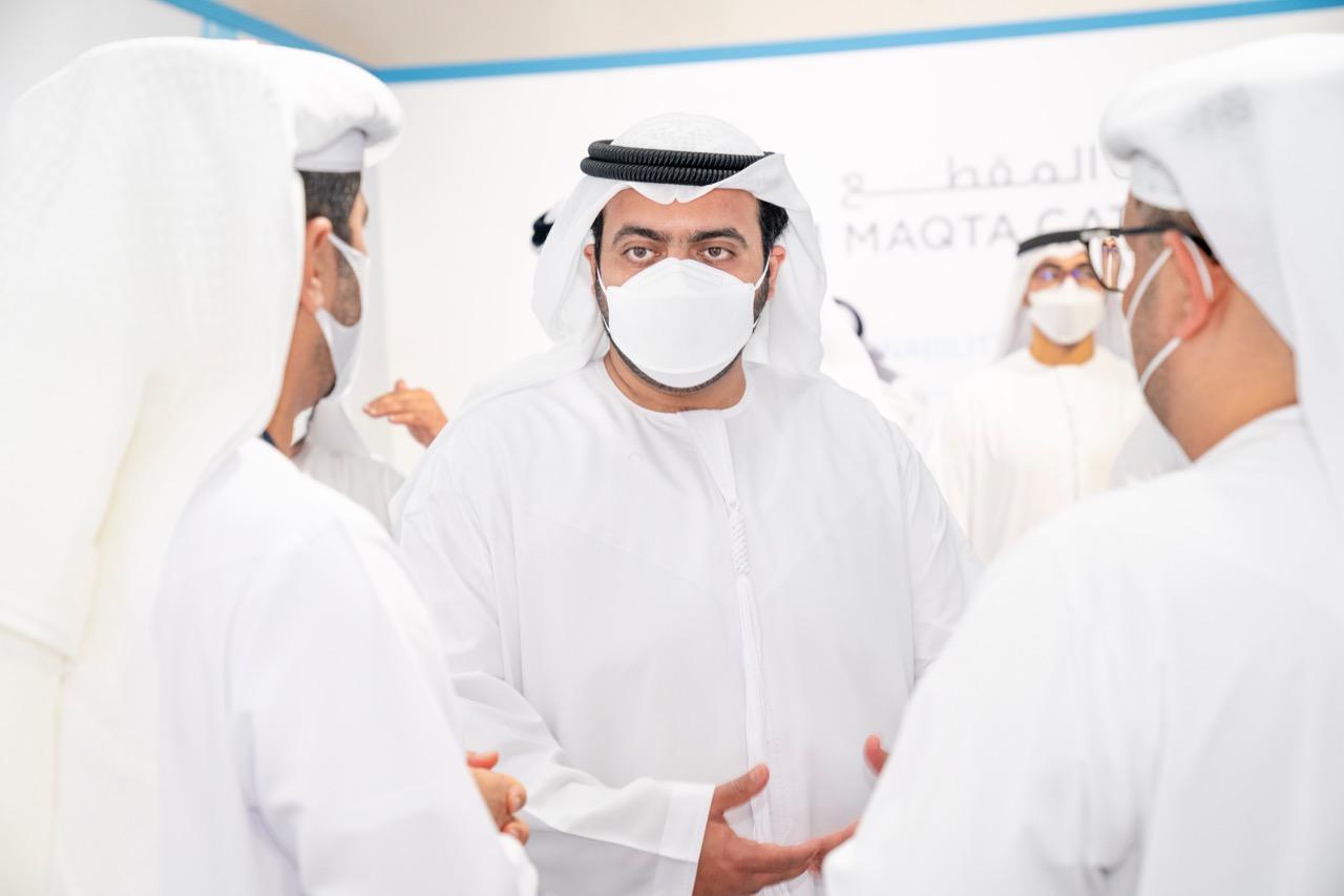 محمد بن حمد الشرقي يفتتح توسعة مرافئ الفجيرة باستثمار يبلغ مليار درهم