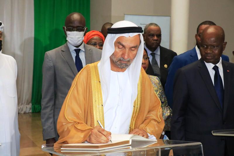 الجروان يلتقي رئيسي الوزراء والبرلمان ووزير الخارجية في ساحل العاج