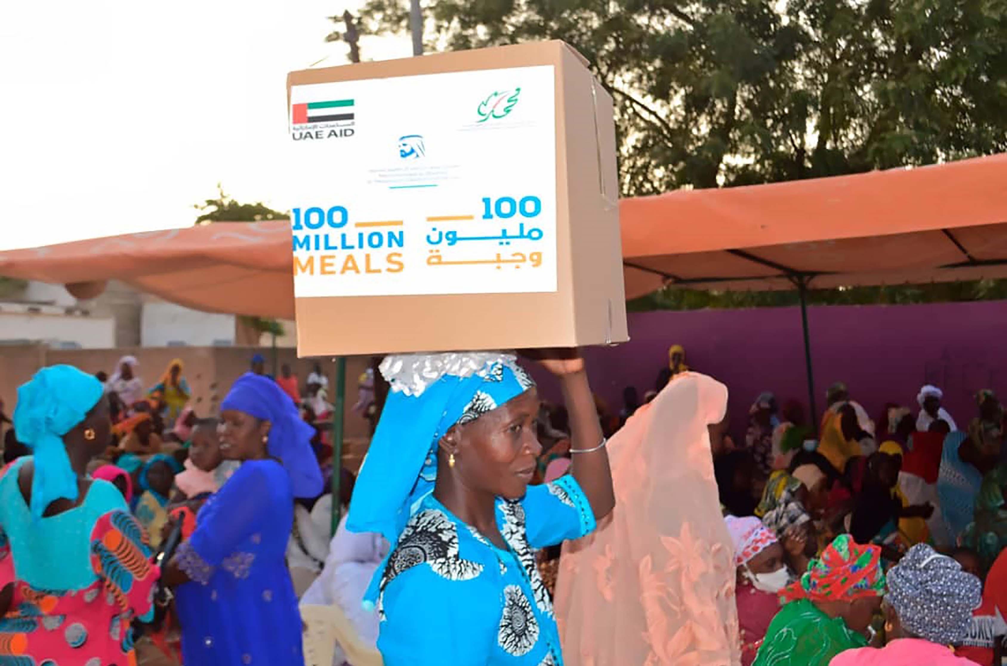 """""""حملة 100 مليون وجبة"""" تصل بالدعم الغذائي إلى تنزانيا وكينيا والسنغال"""