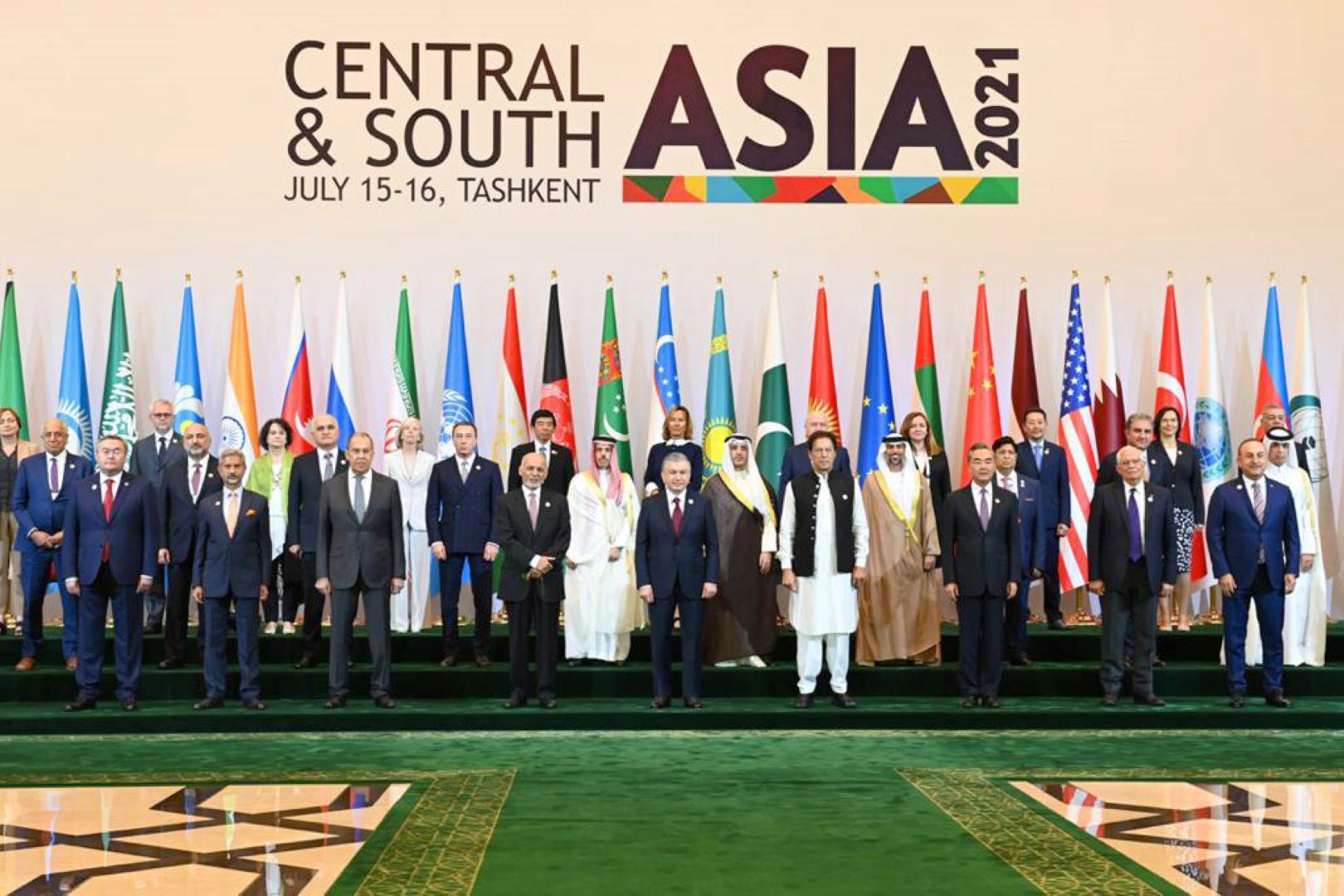 """الإمارات تشارك في مؤتمر"""" آسيا الوسطى و جنوب آسيا .. الترابط الإقليمي- التداعيات والفرص في أوزبكستان"""""""