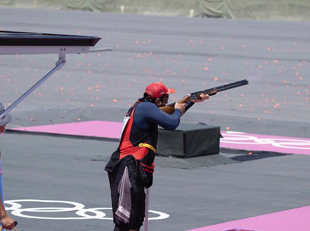 بن فطيس يحقق 70 نقطة في اليوم الأول بمنافسات السكيت بأولمبياد طوكيو