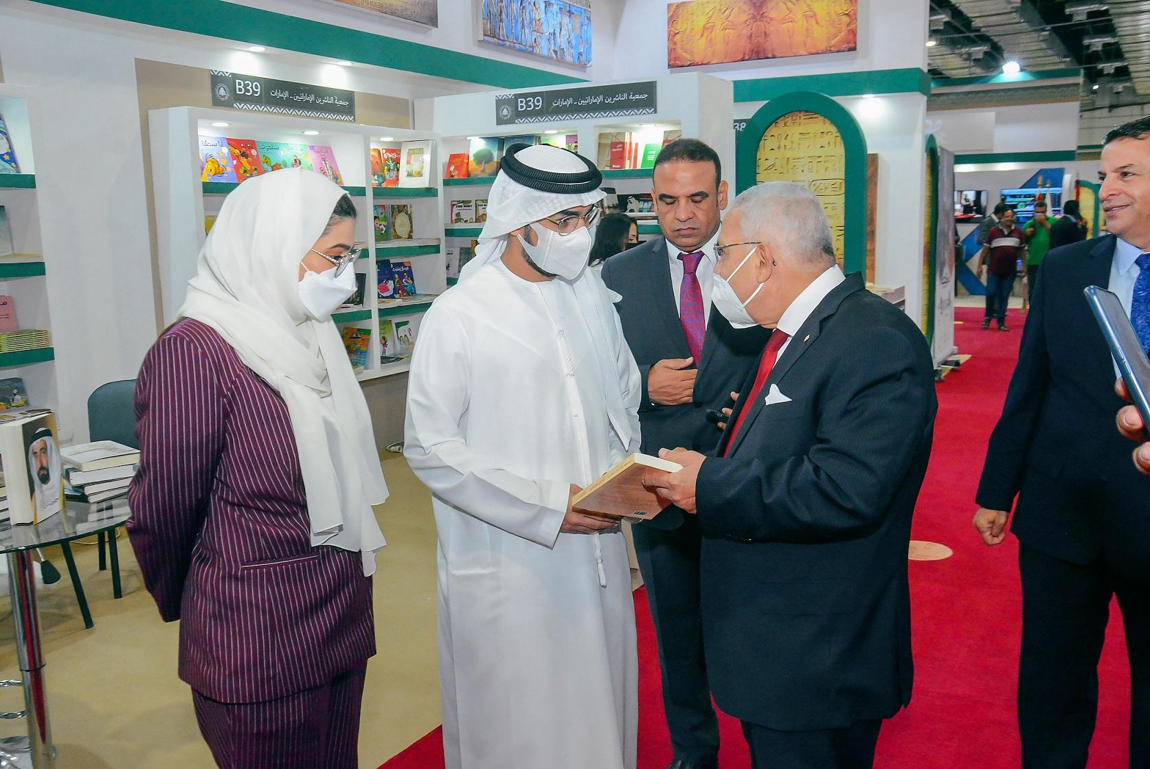 """""""الناشرين الإماراتيين"""" تعرض إصدارات 21 دار نشر محلية في """"القاهرة للكتاب"""""""