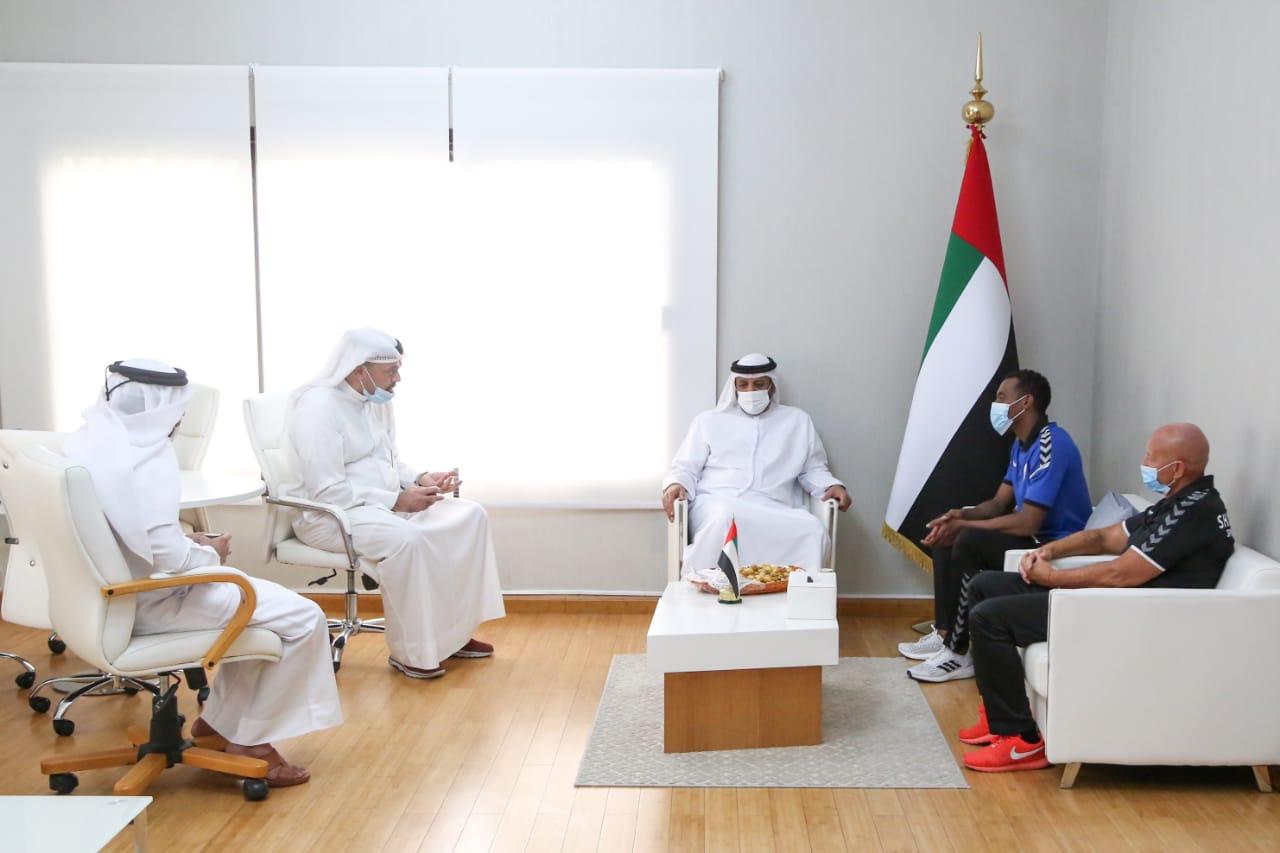 مجلس الشارقة الرياضي يساند لاعب القوى محمد النوبي في أولمبياد طوكيو