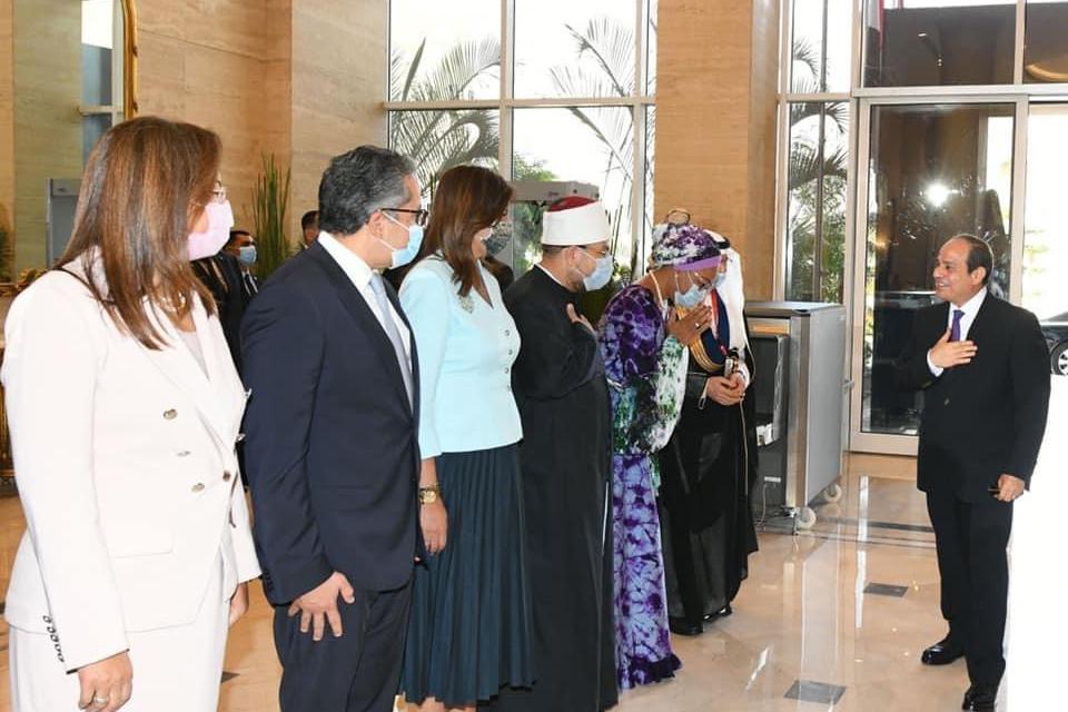 الرئيس المصري : نهضة الدول العربية لن تتحق دون تمكين حقيقى للمرأة