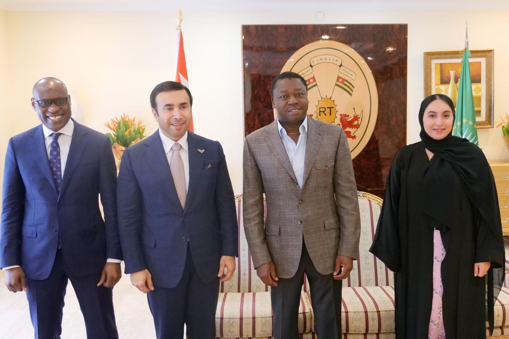 الامارات وتوغو تبحثان تعزيز العلاقات الثنائية في المجالات الأمنية والشرطية