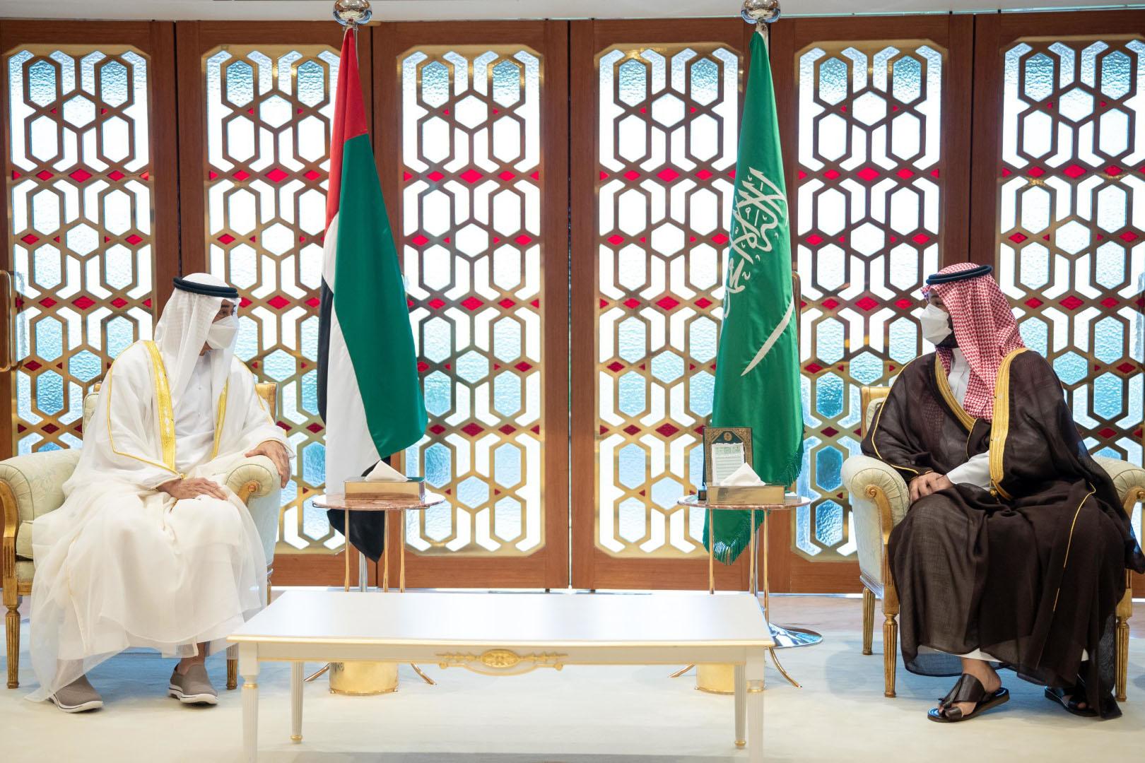 محمد بن زايد ومحمد بن سلمان يبحثان في الرياض العلاقات الأخوية والتطورات في المنطقة