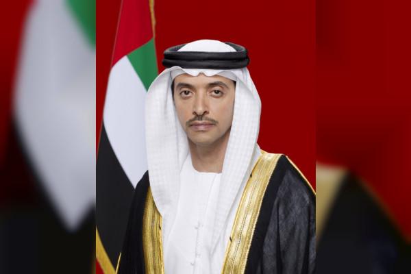 هزاع بن زايد يهنئ رئيس الدولة ونائبه ومحمد بن زايد والحكام بعيد الأضحى