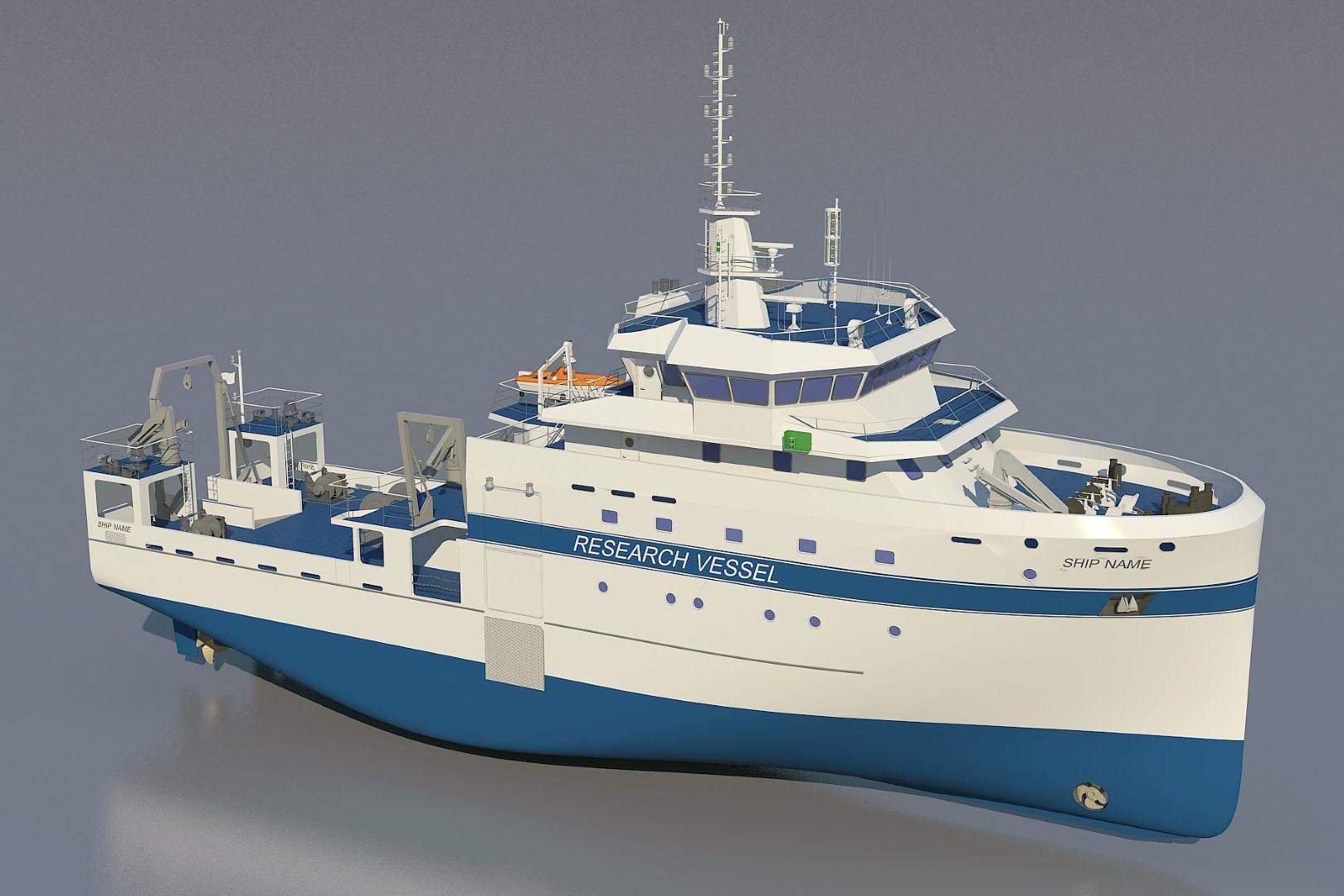 حمدان بن زايد يعلن بدء هيئة البيئة - أبوظبي بناء وتطوير سفينة أبحاث تعتبر الأكثر تقدماً وتطوراً على مستوى الشرق الأوسط