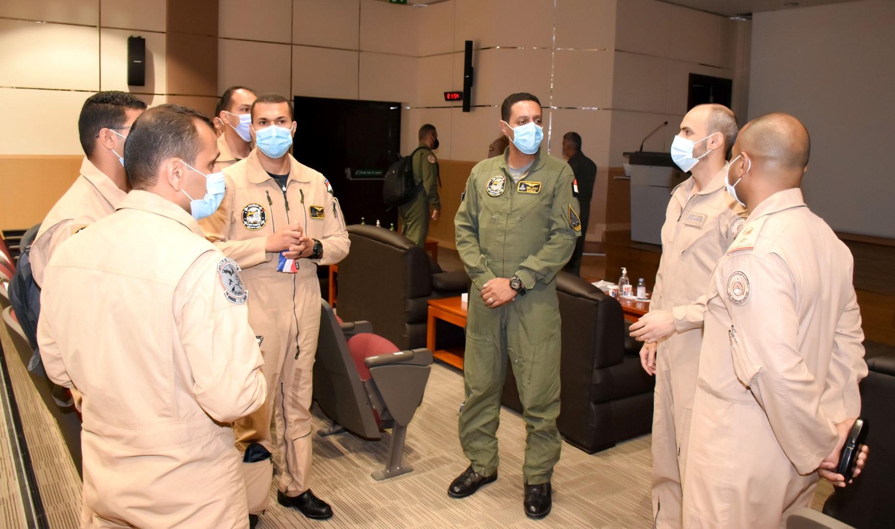 """وصول القوات الجوية المصرية للمشاركة في تمرين """"زايد 3"""""""