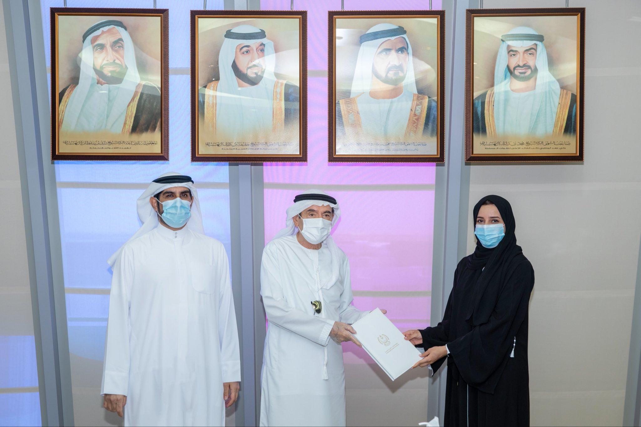 UAEU Chancellor meets one of newest Fellows of 'International Positive Psychology Association'