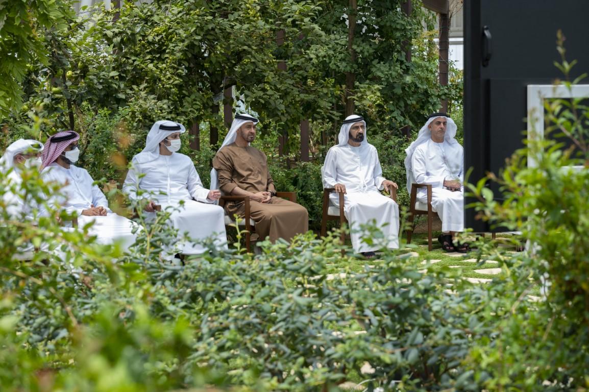 محمد بن زايد يستقبل أخاه محمد بن راشد ويستعرضان الدورة الجديدة من المشاريع الإستراتيجية الوطنية