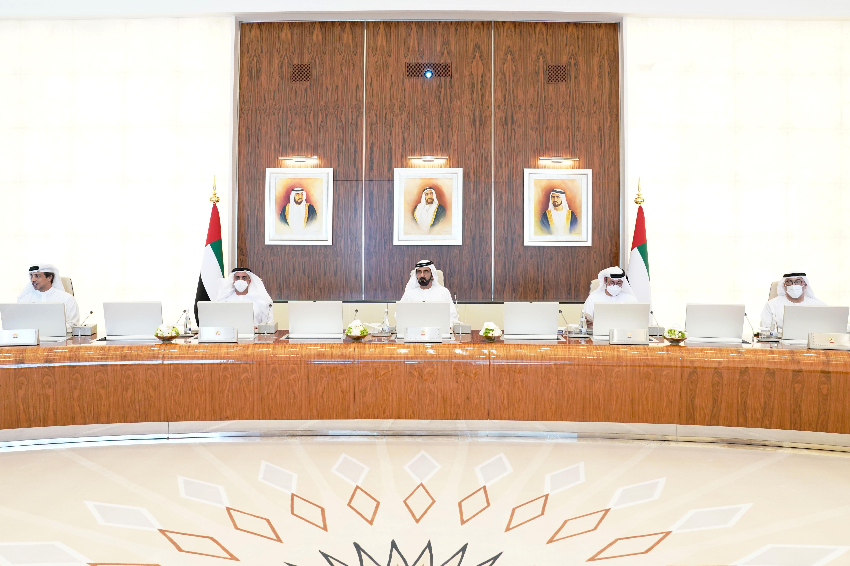 محمد بن راشد يترأس اجتماع مجلس الوزراء