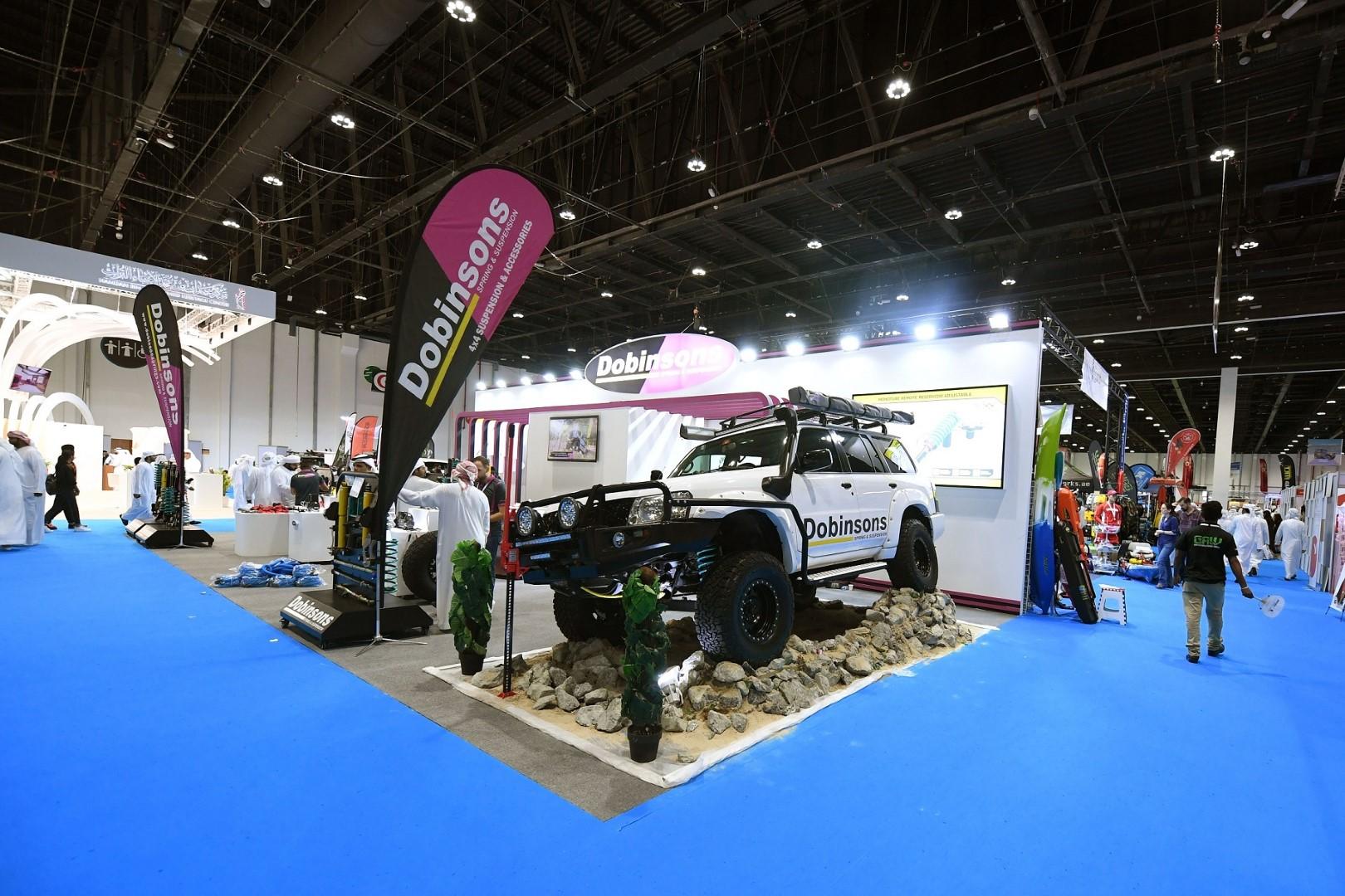 زيادة كبيرة في عدد الشركات الإماراتية بمعرض أبوظبيللصيد والفروسية