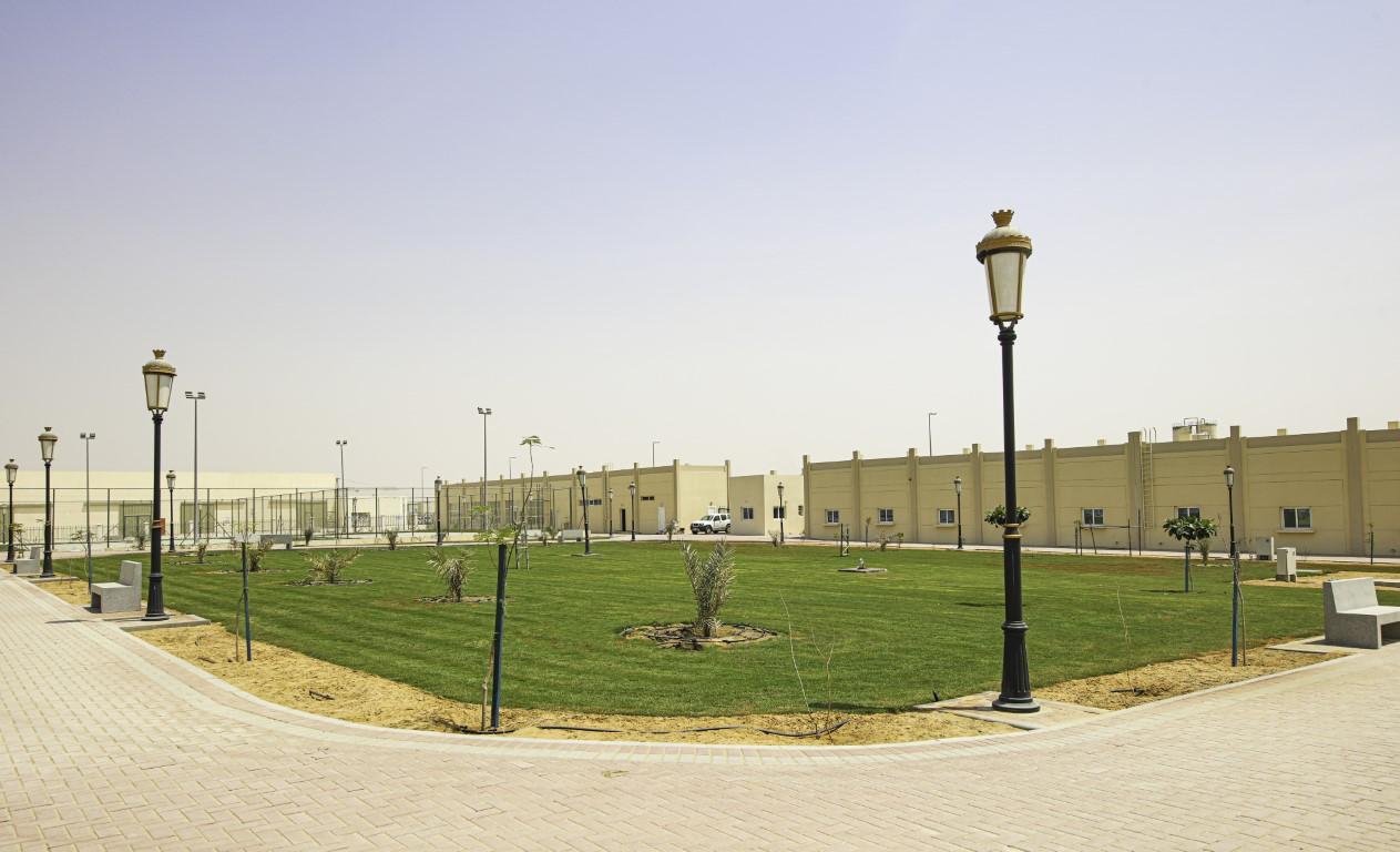 إنجاز حديقة عمالية ترفيهية في الصجعة الصناعية بالشارقة