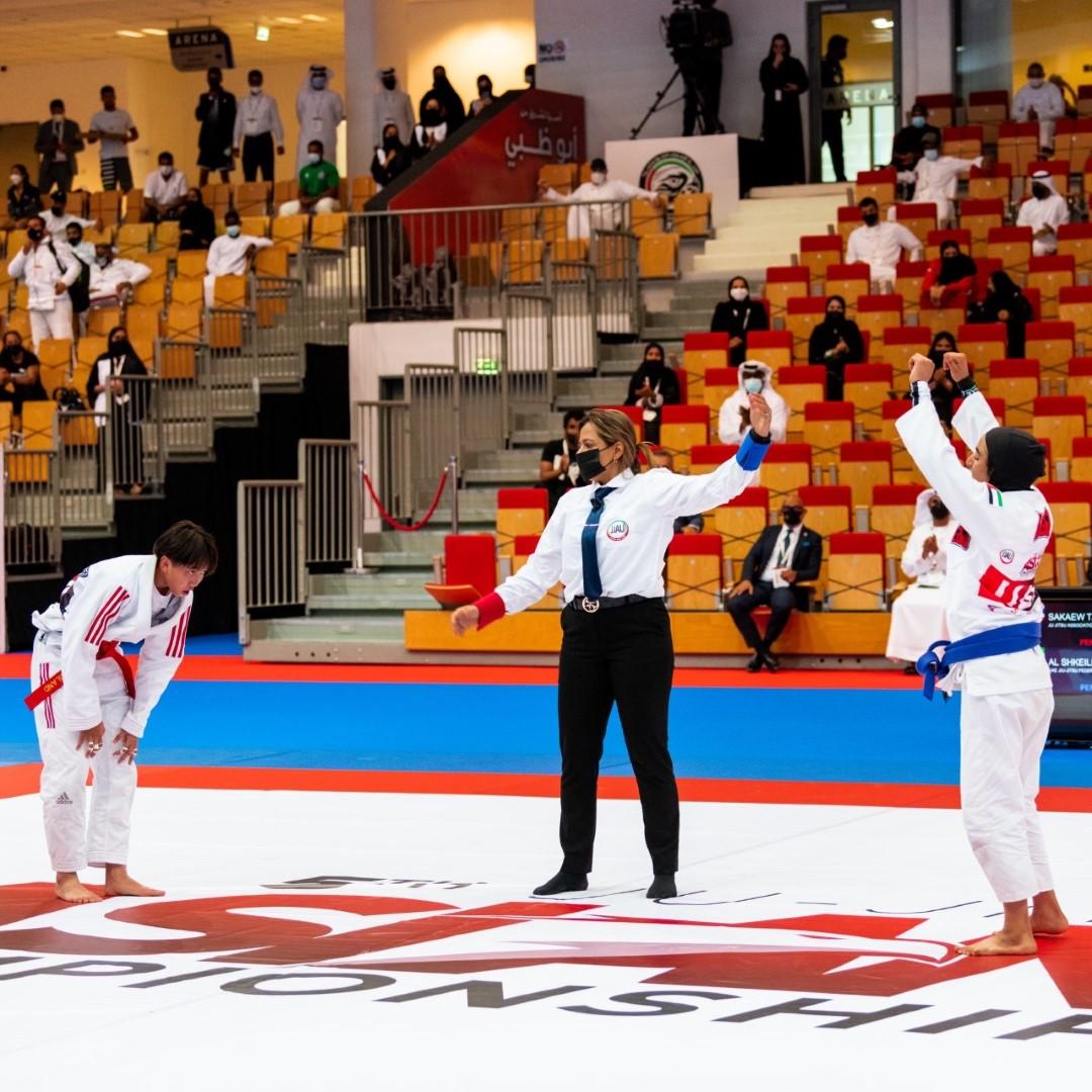 الإمارات تتصدر منافسات بطولة آسيا للجوجيتسو بنسختها الـ5