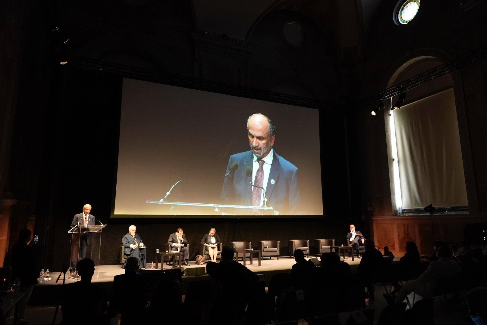 في منتدى مجموعة العشرين للأديان .. الجروان يدعو إلى بناء السلام  بدلا من التسليح والحروب