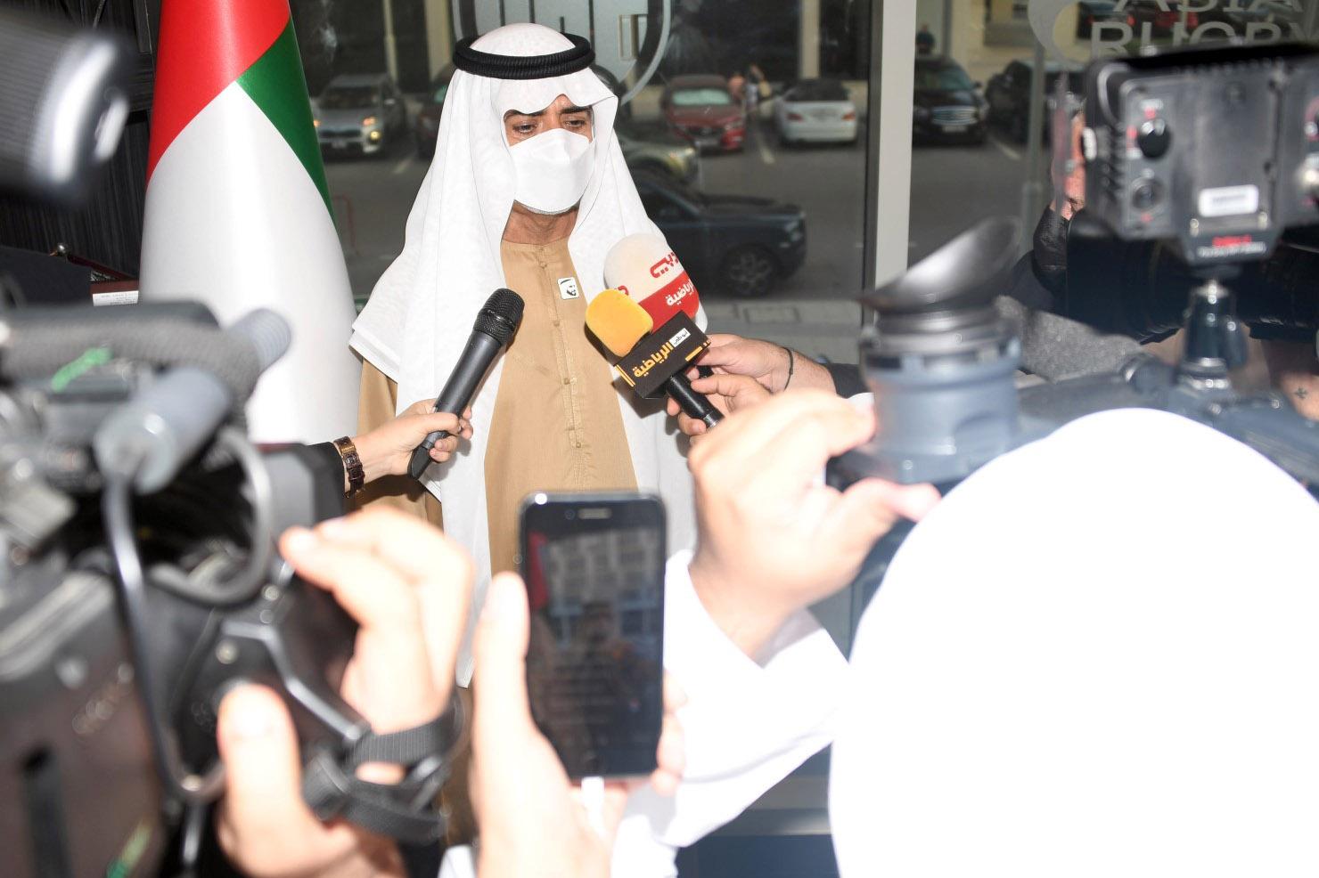 افتتاح المقر الرسمي الجديد للاتحاد الآسيوي لرياضة الرجبي فى دبي