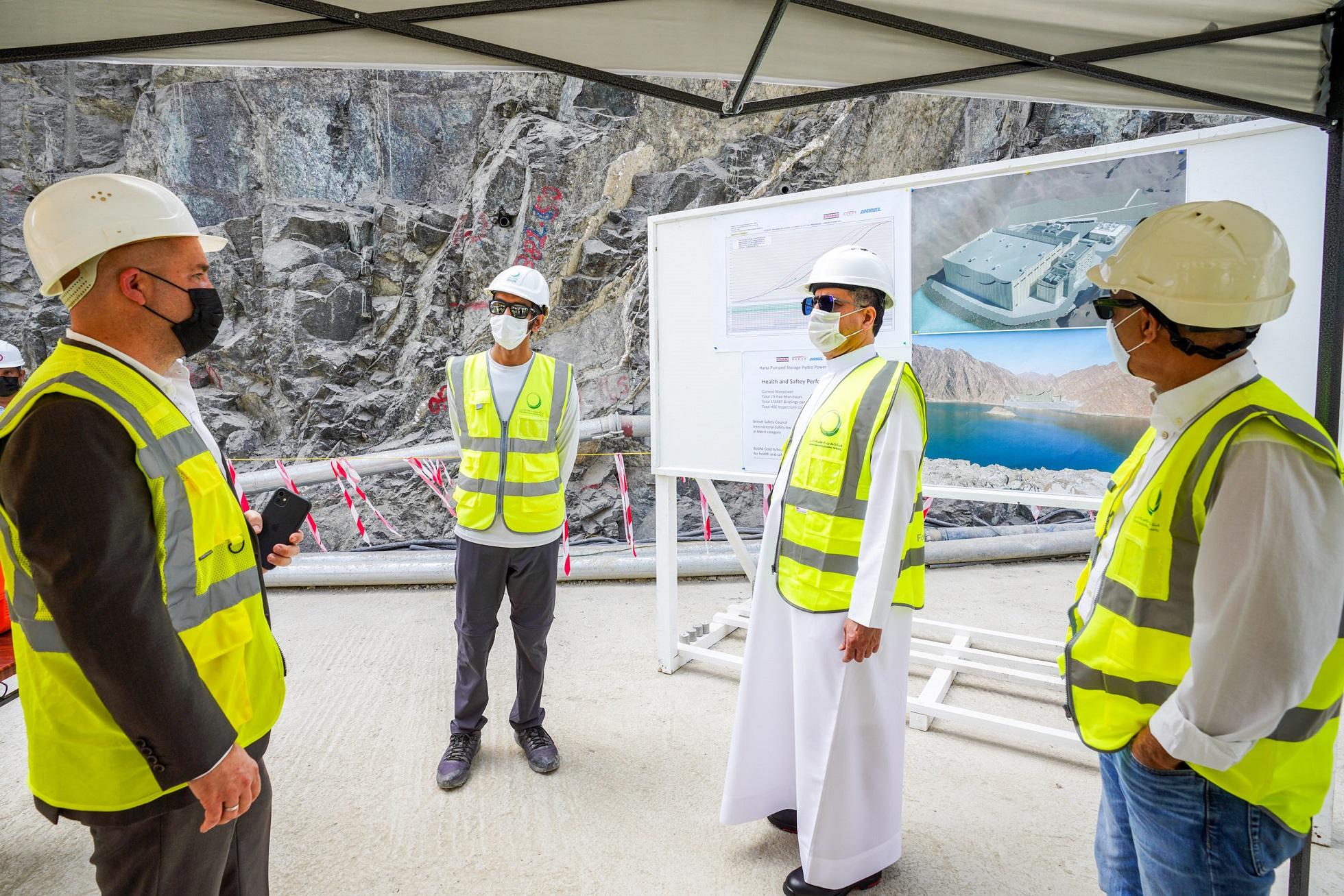 """29 % نسبة الإنجاز في المحطة الكهرومائية التي تنفذها """"كهرباء دبي"""" في حتا"""
