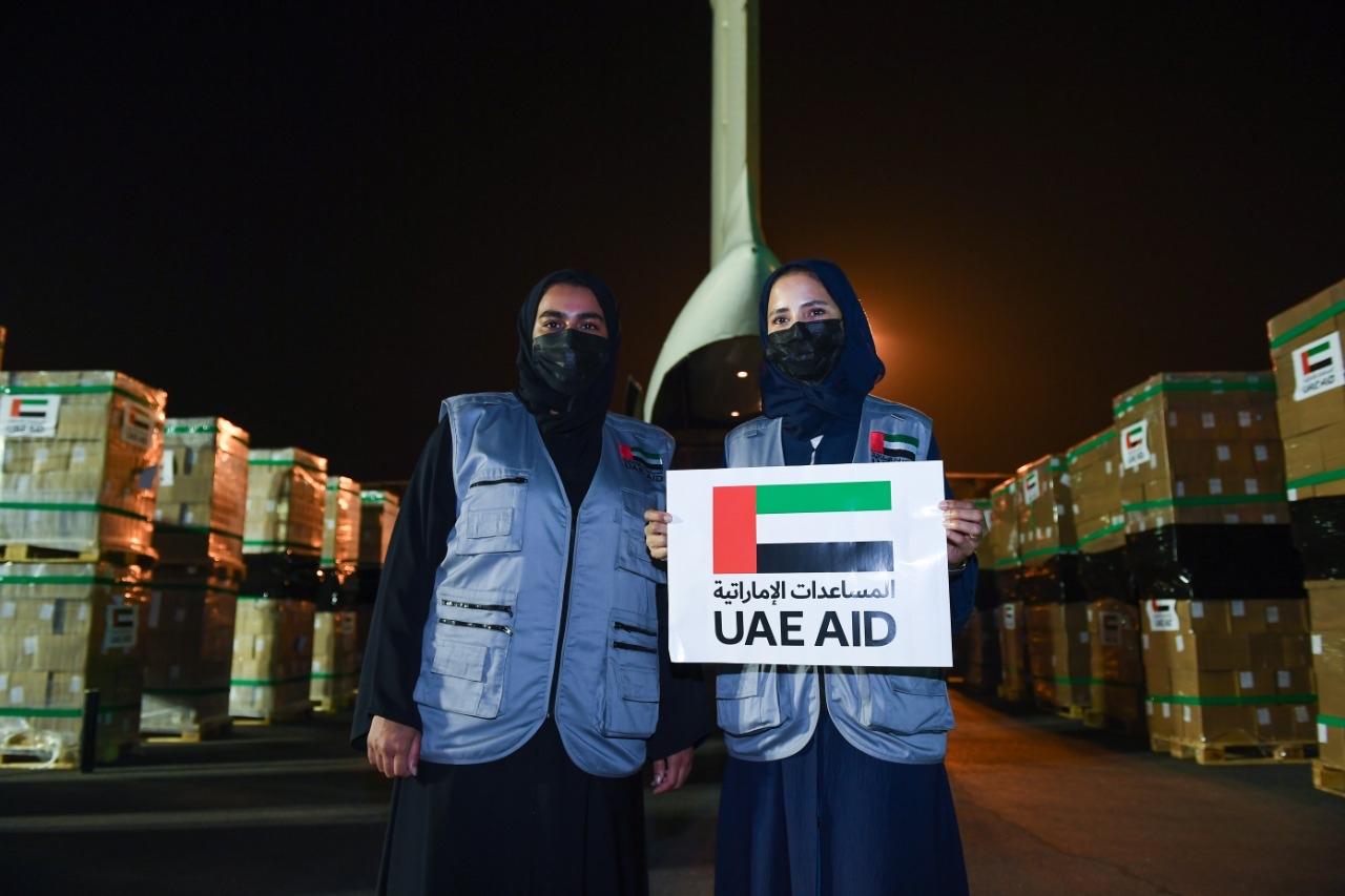 الجسر الجوي الإنساني الإماراتي مستمر دون توقف .. طائرة مساعدات إماراتية سابعة لأفغانستان