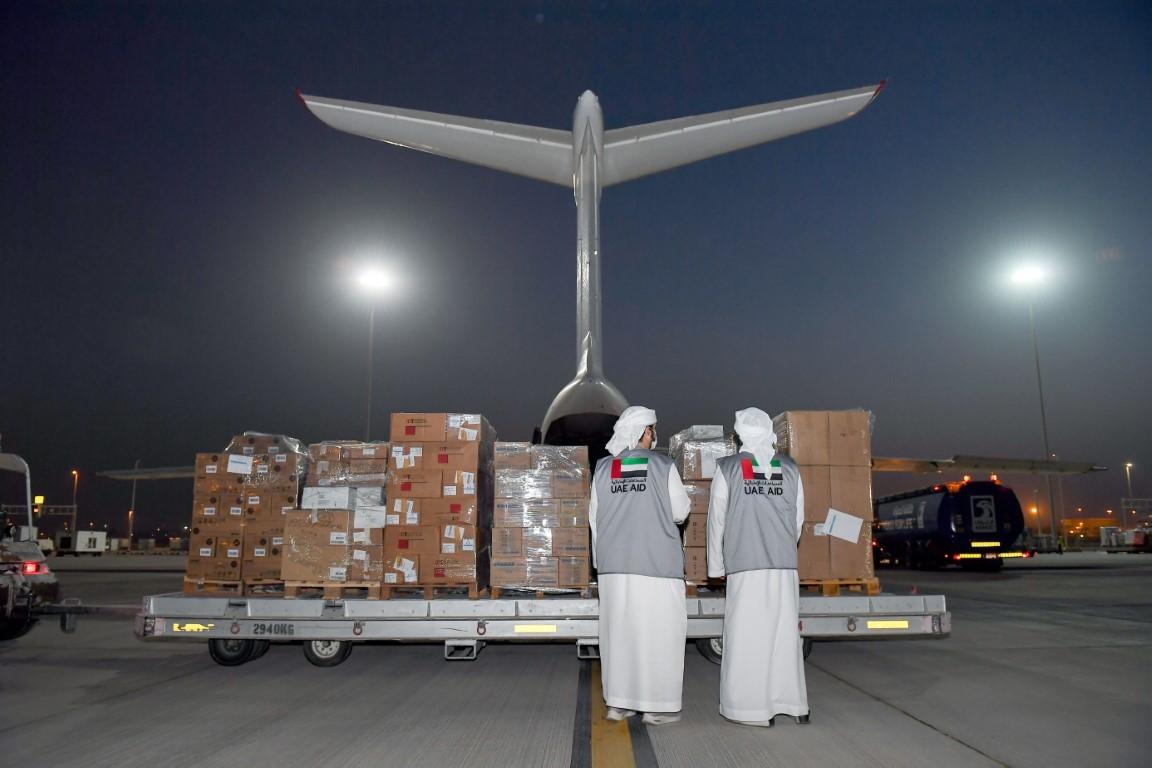 مساعدات إماراتية إغاثية غذائية وطبية عاجلة لأفغانستان