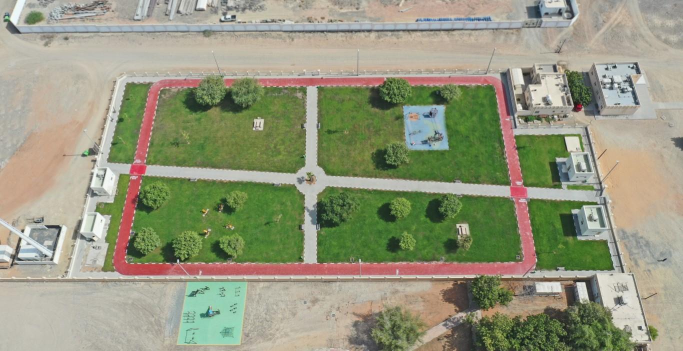 """أشغال الشارقة تنجز أعمال التطوير في حديقة """"الطريف"""" بكلباء"""