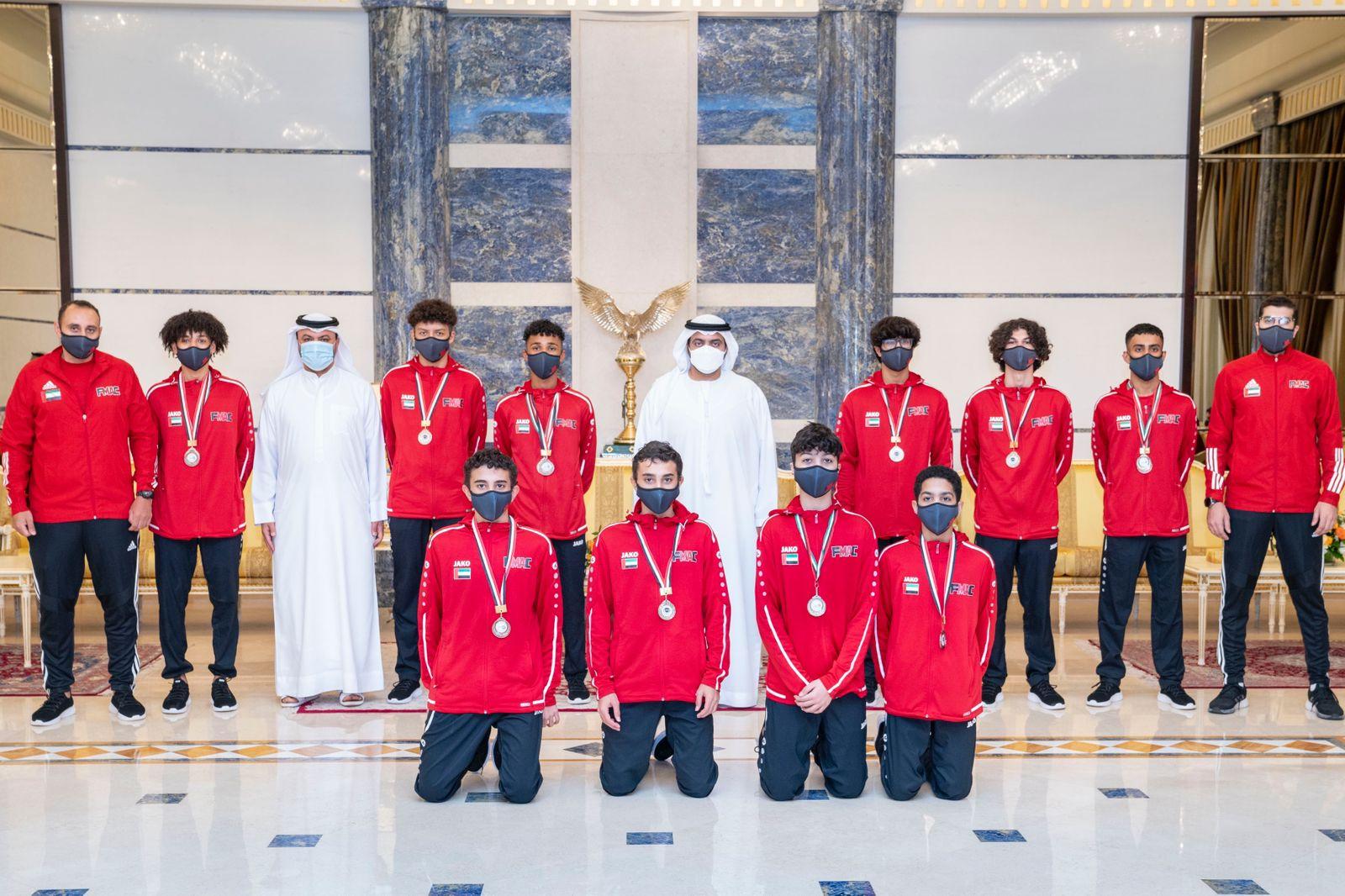 أمير الفجيرة يفوز بالبطولة العربية للأندية المبارزة
