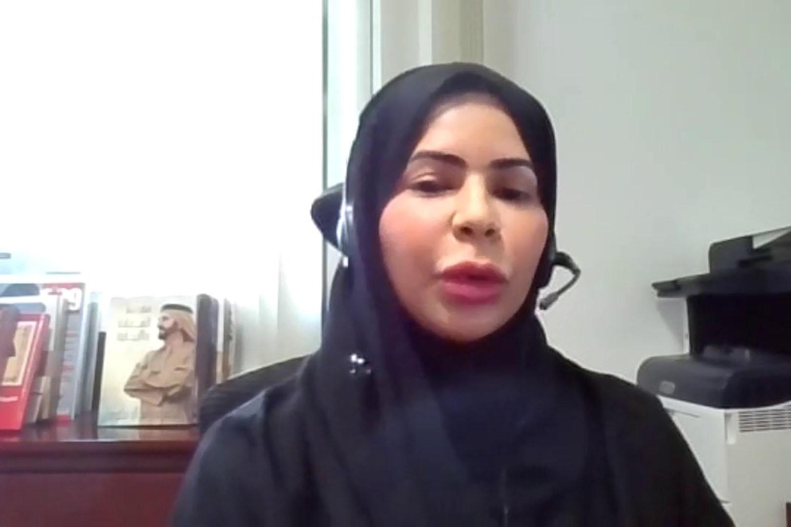 جواهر القاسمي تشيد بتلاقي الأجيال فى ملتقى أديبات الإمارات